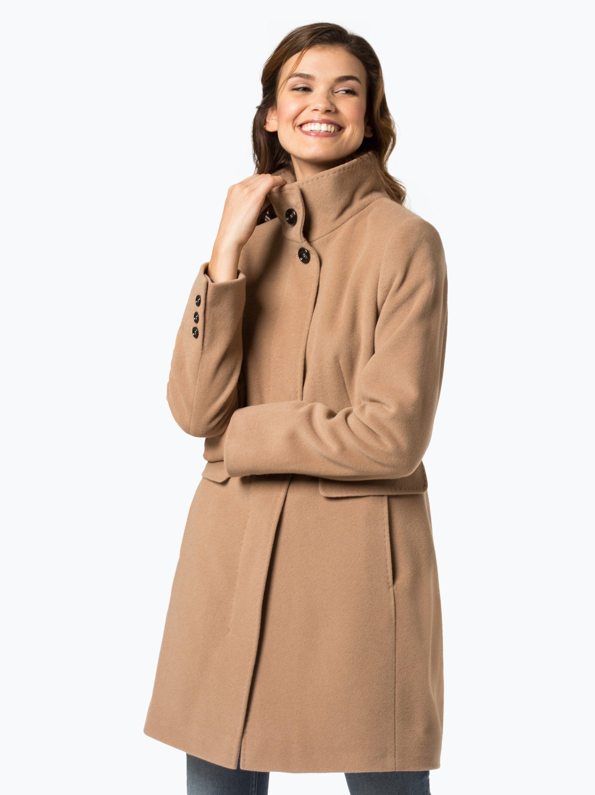 gil bret damen mantel mit cashmere anteil camel uni online kaufen vangraaf com. Black Bedroom Furniture Sets. Home Design Ideas
