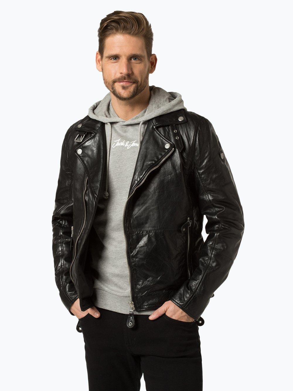Gipsy Lederjacke Mavric schwarz | Lederjacke, Lederjacke