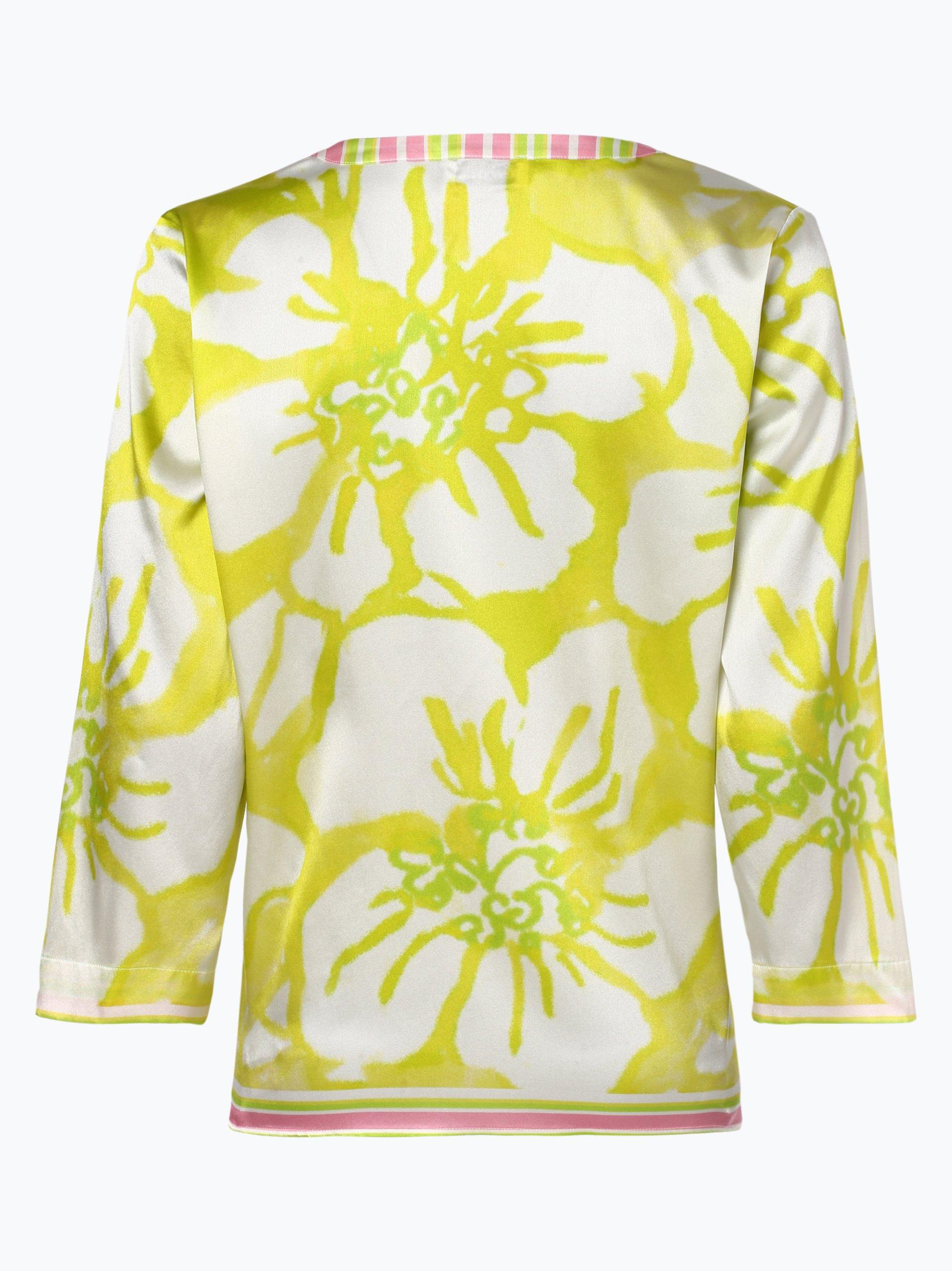 Grace Damen Bluse mit Seiden-Anteil