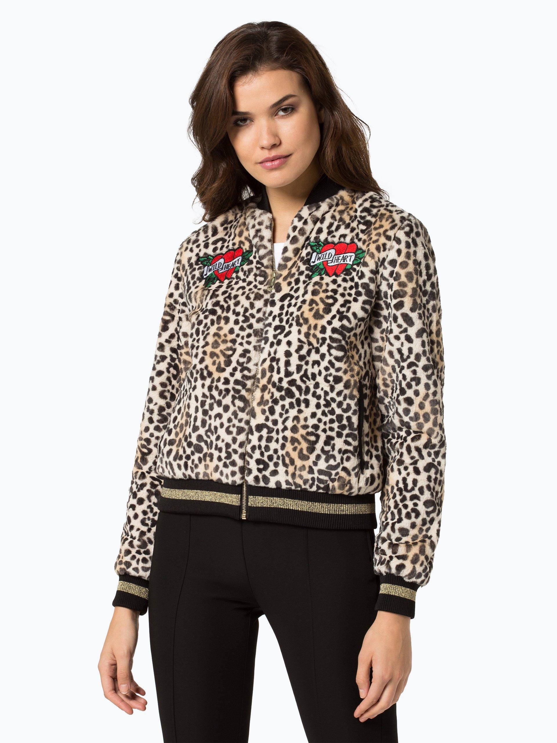 guess jeans damen jacke beige gemustert online kaufen vangraaf com. Black Bedroom Furniture Sets. Home Design Ideas