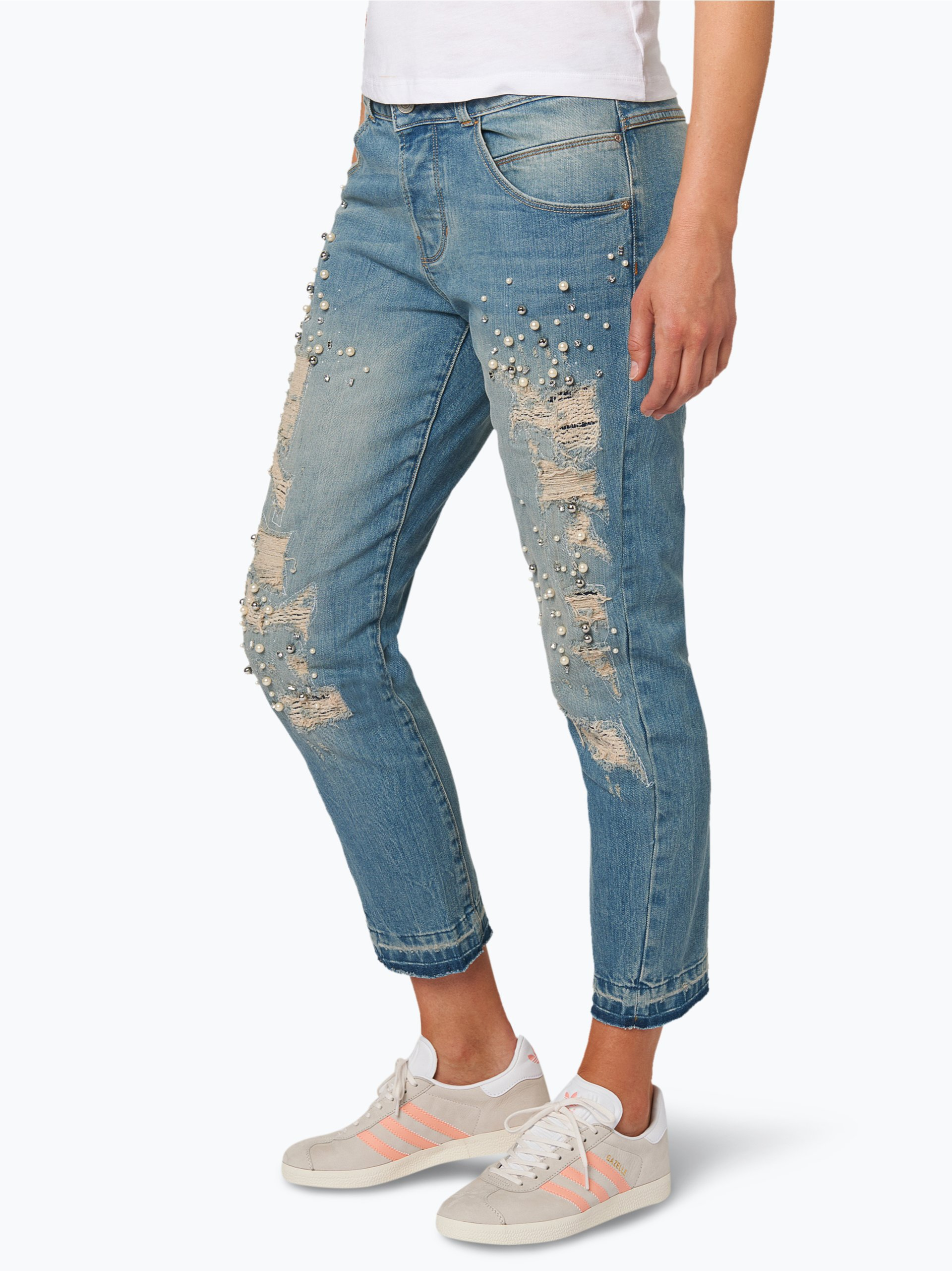 guess jeans damen jeans ragd hellblau uni online kaufen. Black Bedroom Furniture Sets. Home Design Ideas