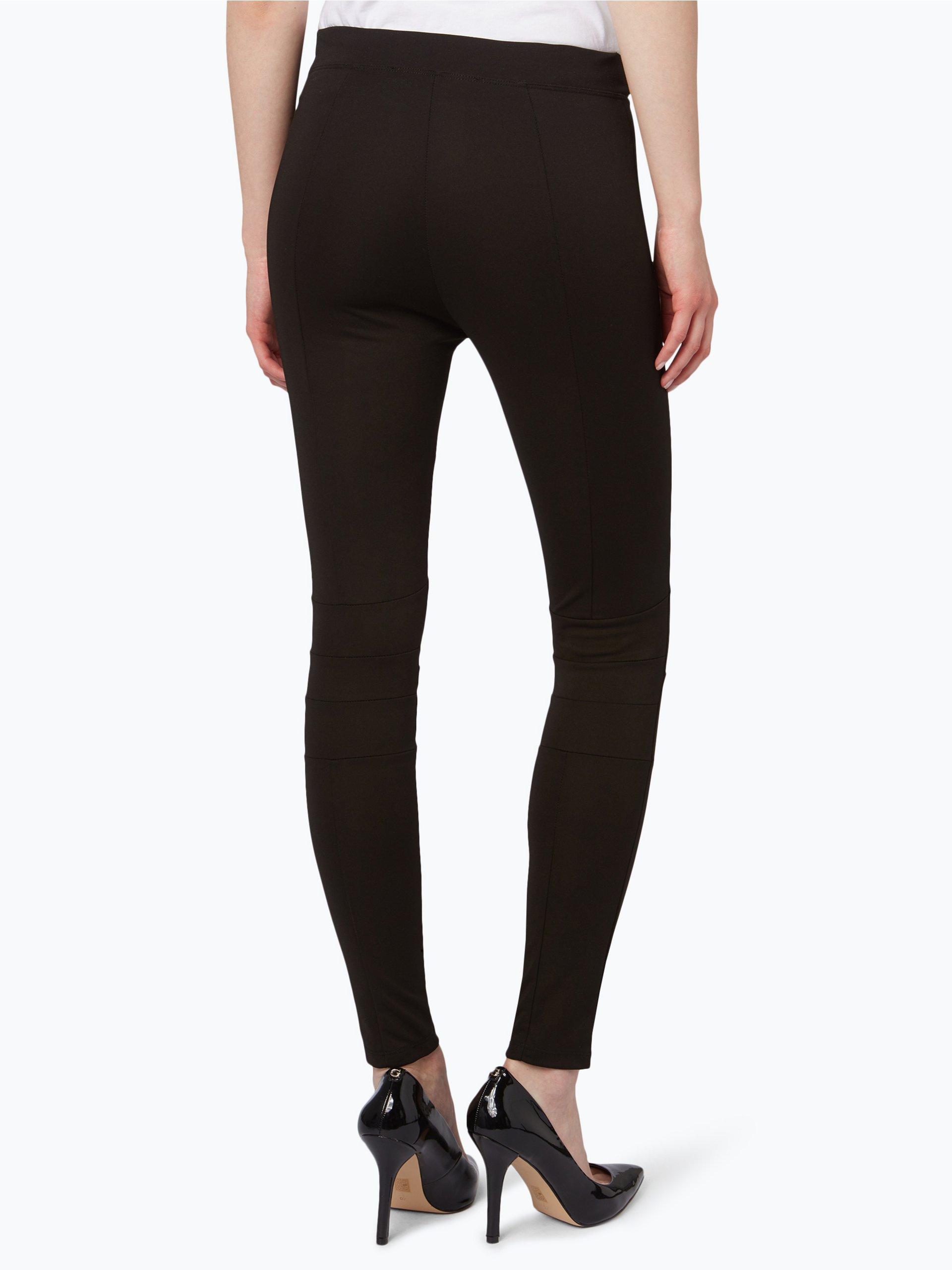 guess jeans damen leggings schwarz uni online kaufen vangraaf com. Black Bedroom Furniture Sets. Home Design Ideas
