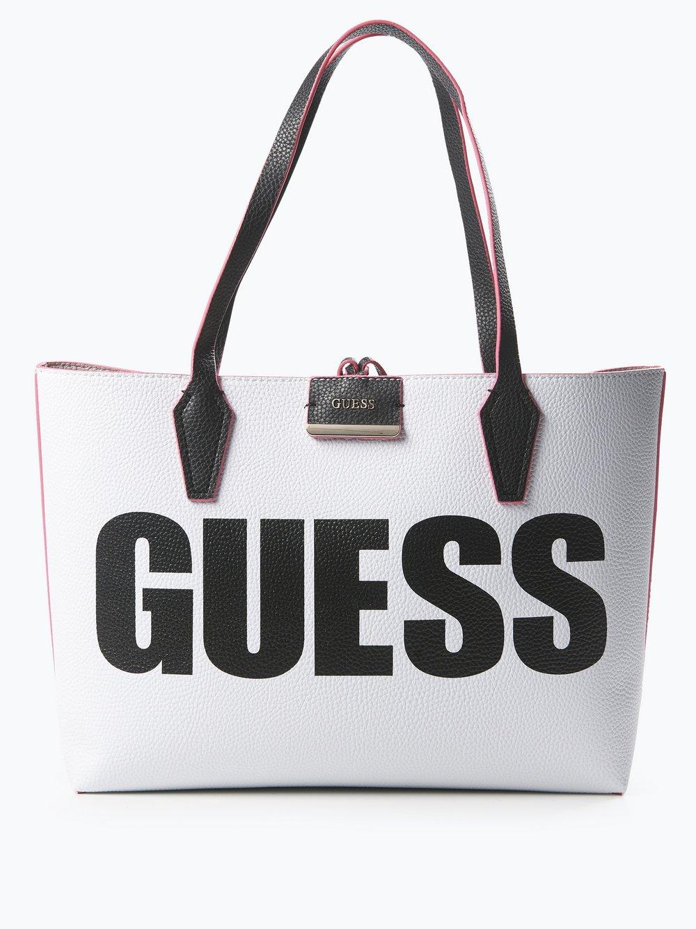 Mit Handtasche Jeans Guess Wende Damen Leder Shopper In vNn8Om0w
