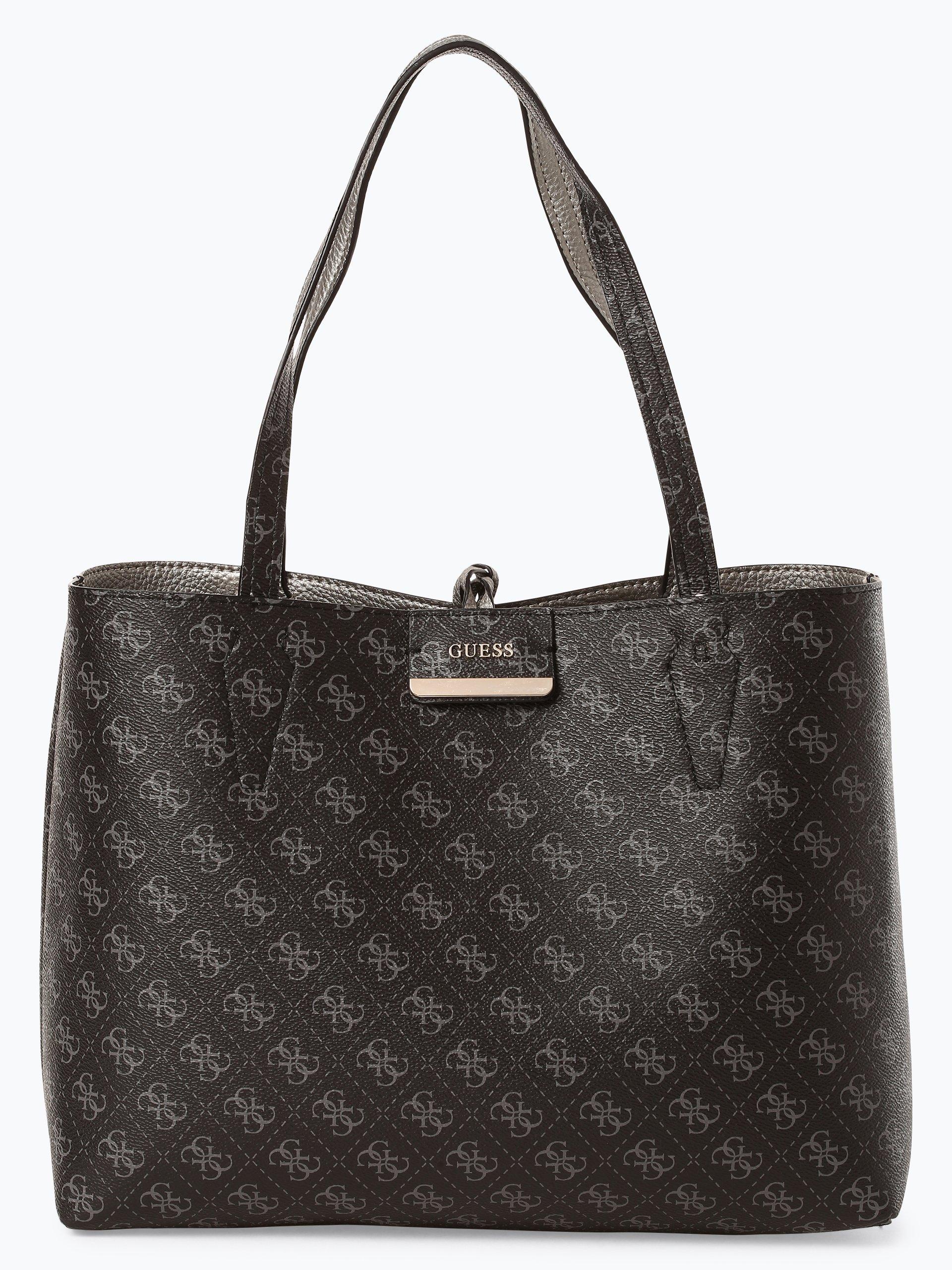 Guess Jeans Damen Wende-Shopper mit Handtasche