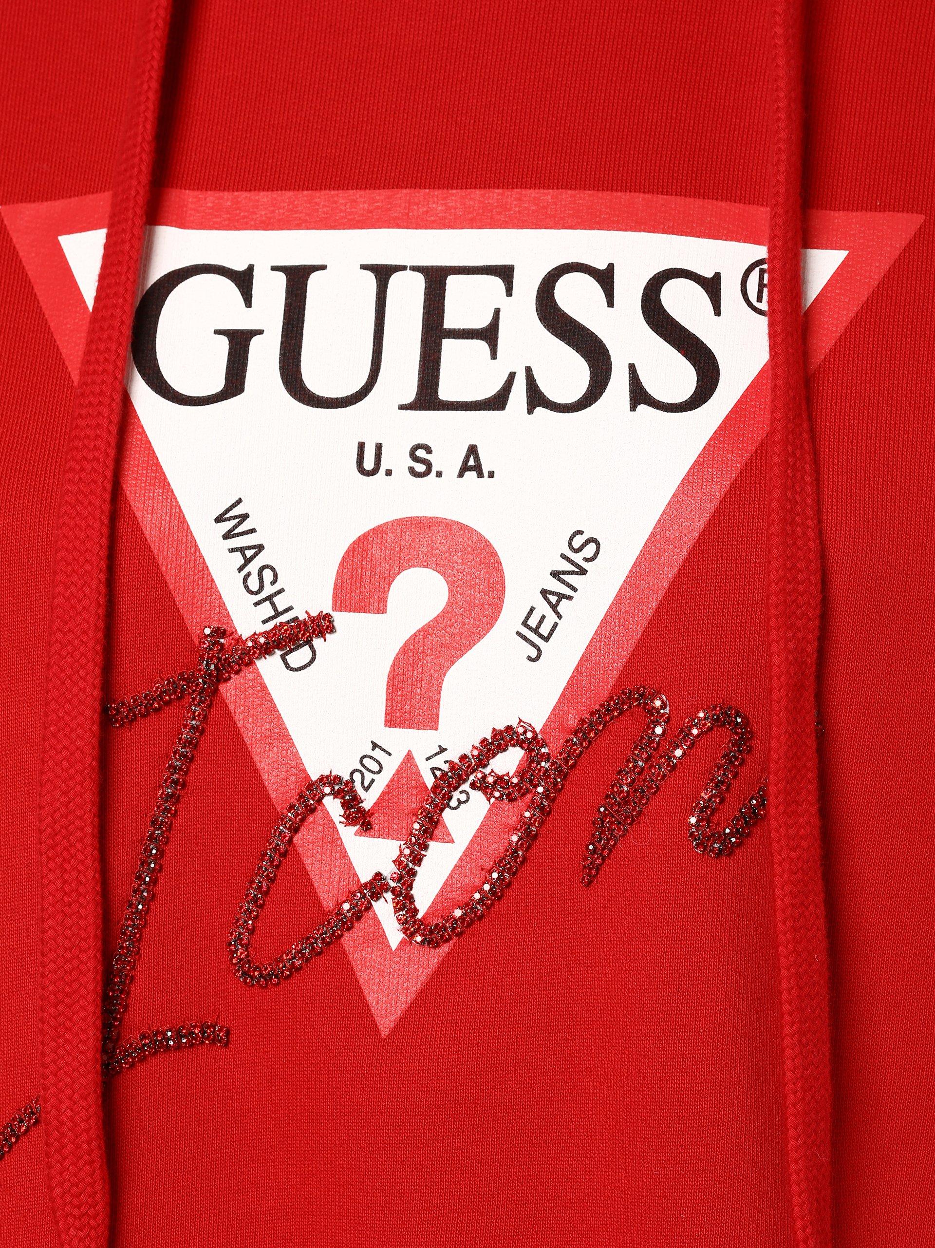 Guess Jeans Damska bluza nierozpinana