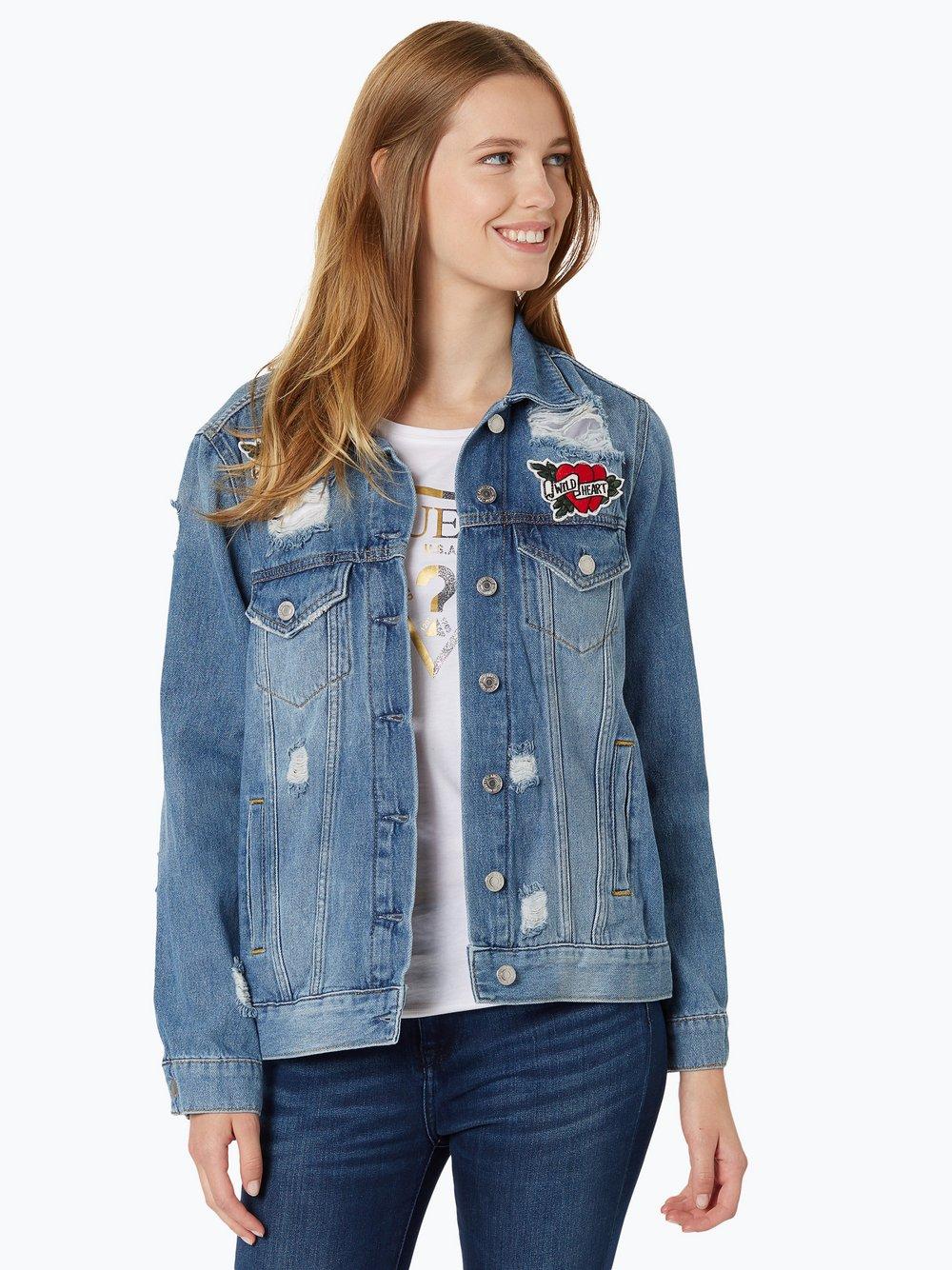 6571a2f2a324b Guess Jeans Damska kurtka jeansowa – Len kup online