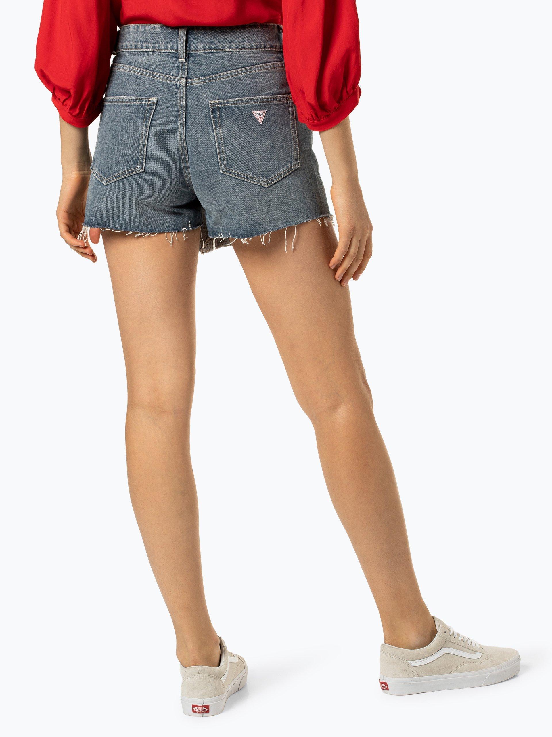 Guess Jeans Damskie krótkie spodenki jeansowe