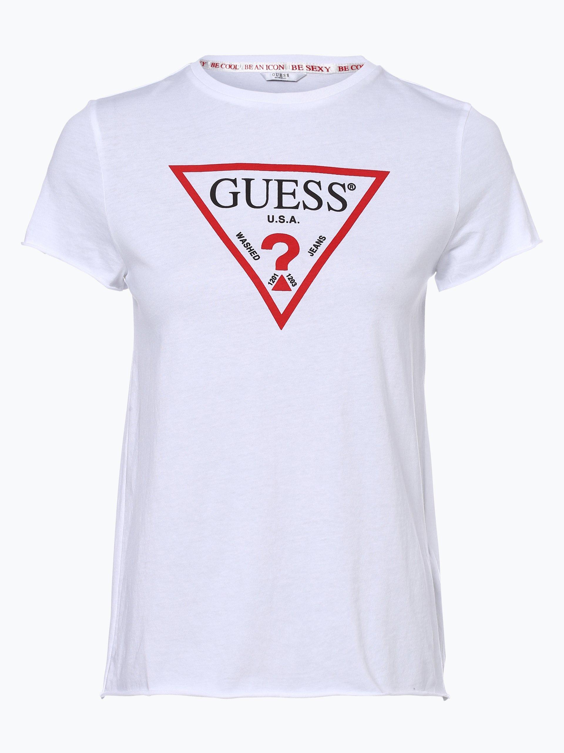 Guess Jeans T Shirt Damski Kup Online Vangraaf Com