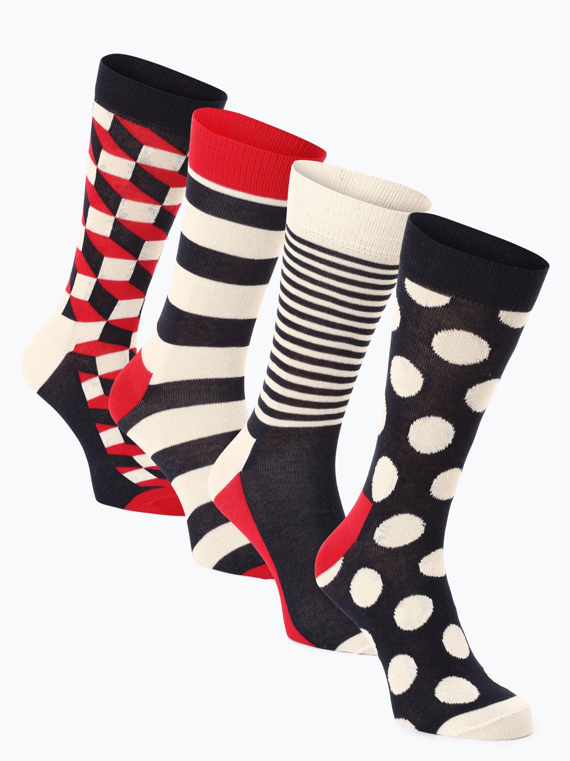Happy Socks Herren Socken im 4er-Pack