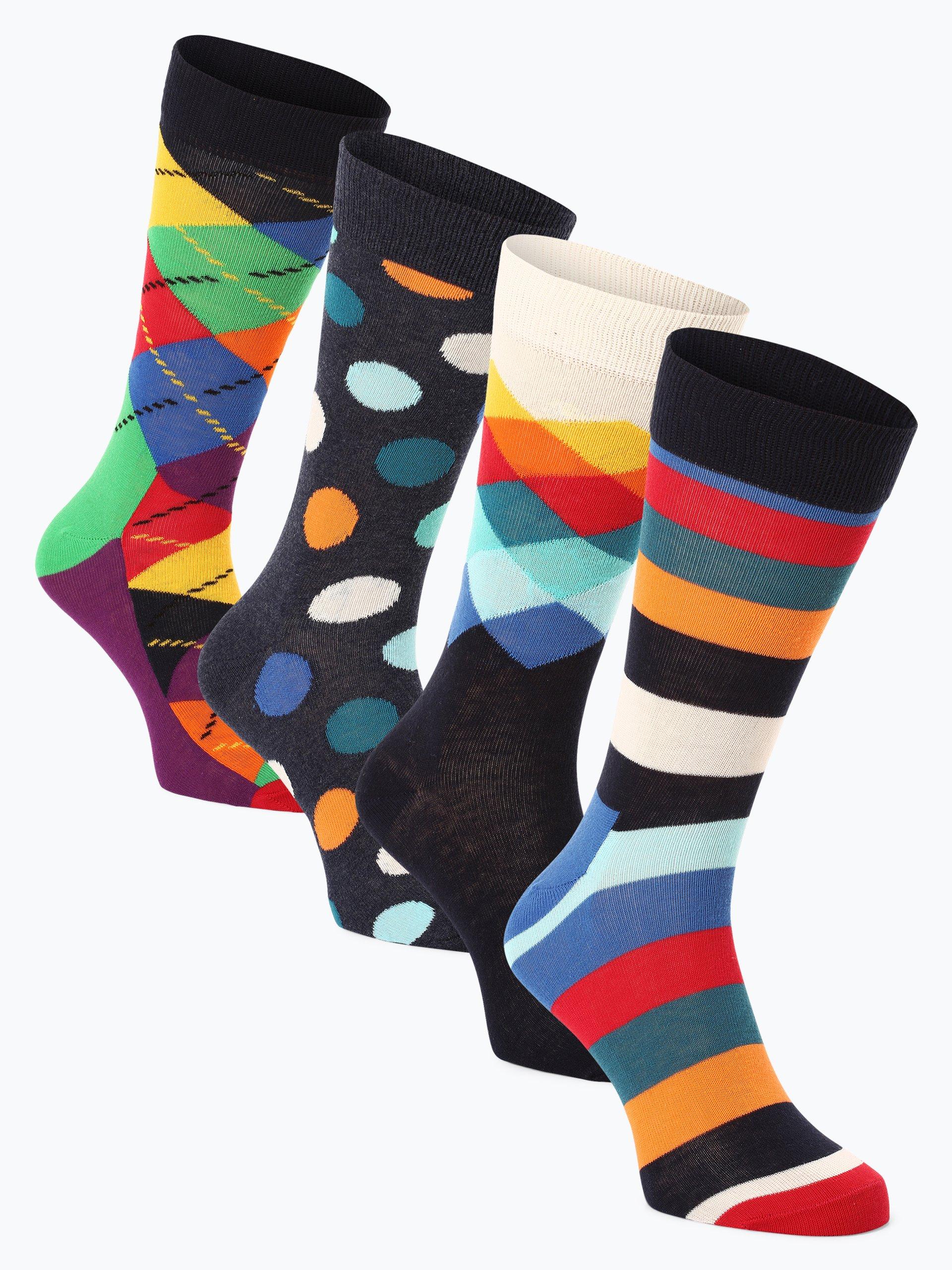Happy Socks Skarpety męskie pakowane po 4 szt.