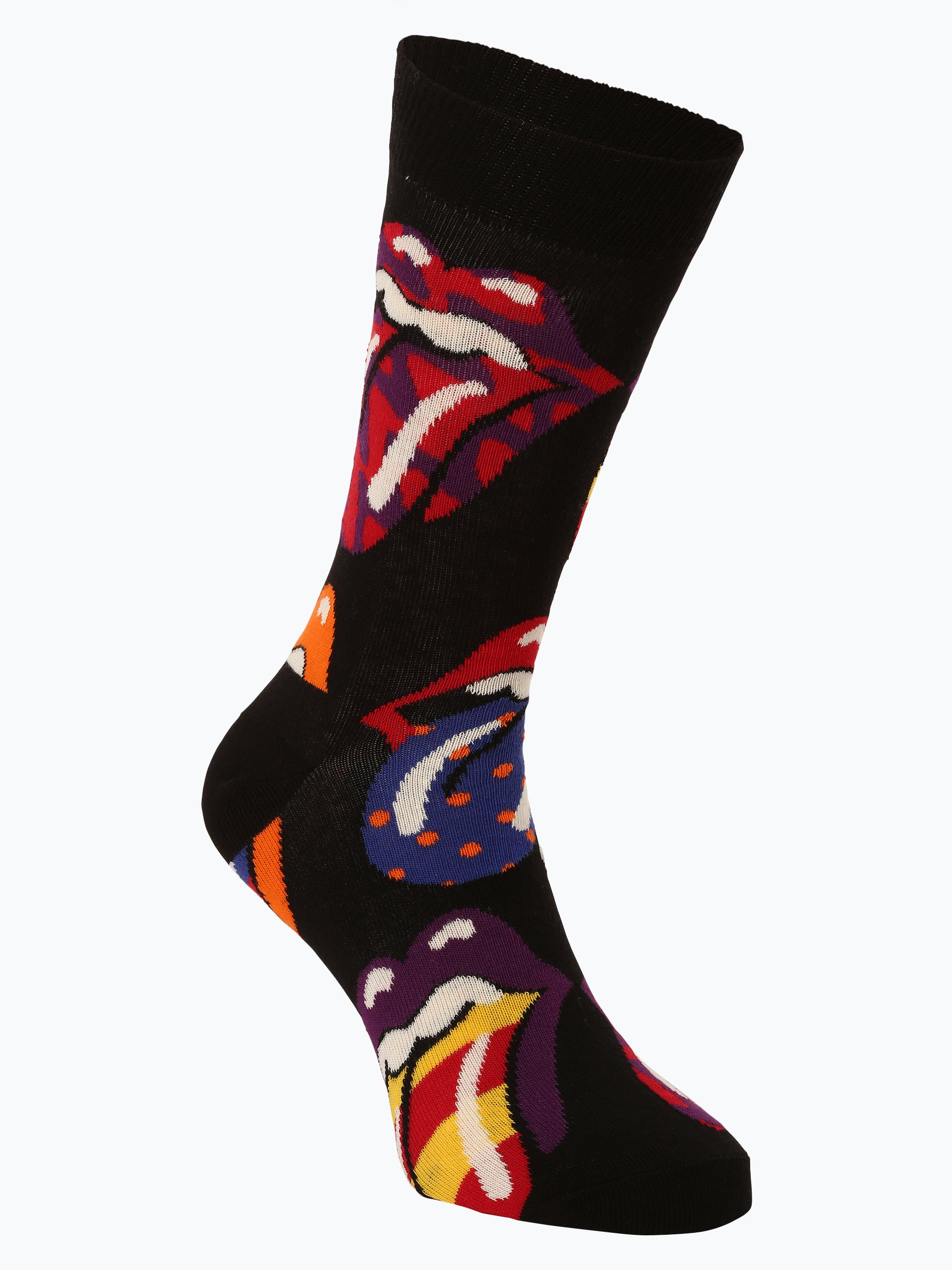 Happy Socks Skarpety z drobnej dzianiny – Rolling Stones