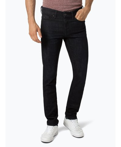 boss casual herren jeans orange 63 schwarz uni online kaufen peek und cloppenburg de. Black Bedroom Furniture Sets. Home Design Ideas