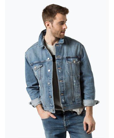 tommy jeans herren jeansjacke grau anthrazit uni online kaufen peek und cloppenburg de. Black Bedroom Furniture Sets. Home Design Ideas