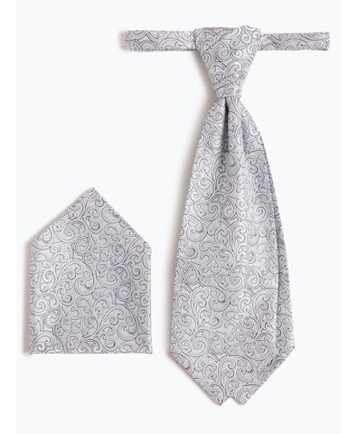 Herren Krawatte und Einstecktuch