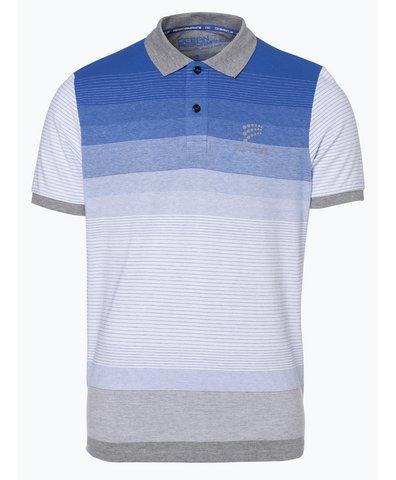 a8cef4a579b0 Tommy Hilfiger Herren T-Shirt blau gemustert online kaufen   PEEK ...