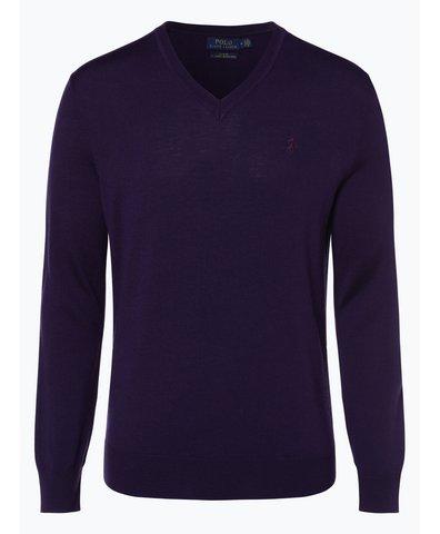 Herren Pullover aus Merinowolle - Slim Fit