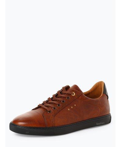Herren Sneaker aus Leder - Napoli Brogue Uomo Low