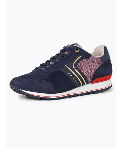 Herren Sneaker mit Leder-Anteil - Parkour_Runn_flag