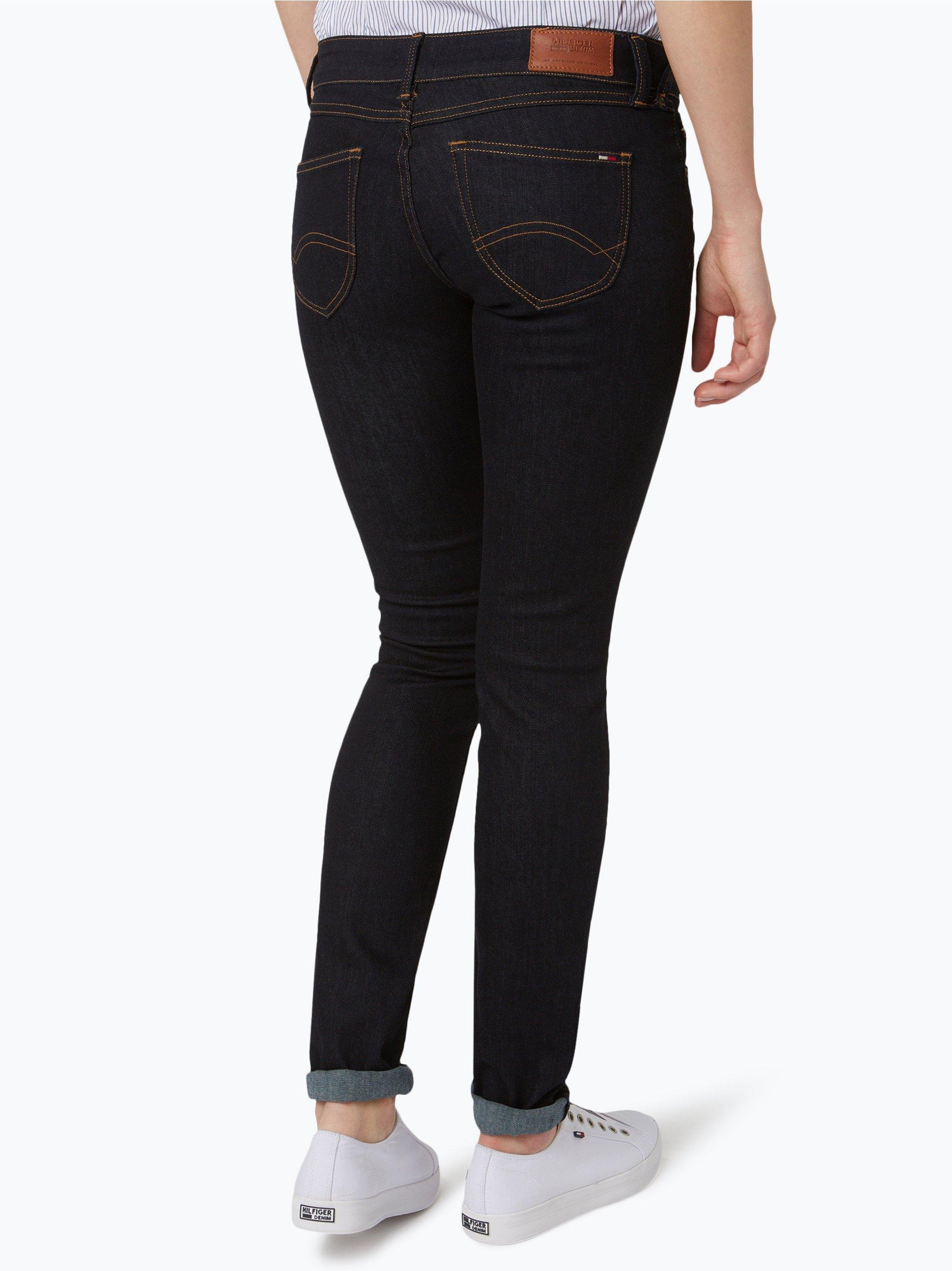 hilfiger denim damen jeans sophie blau uni online kaufen. Black Bedroom Furniture Sets. Home Design Ideas