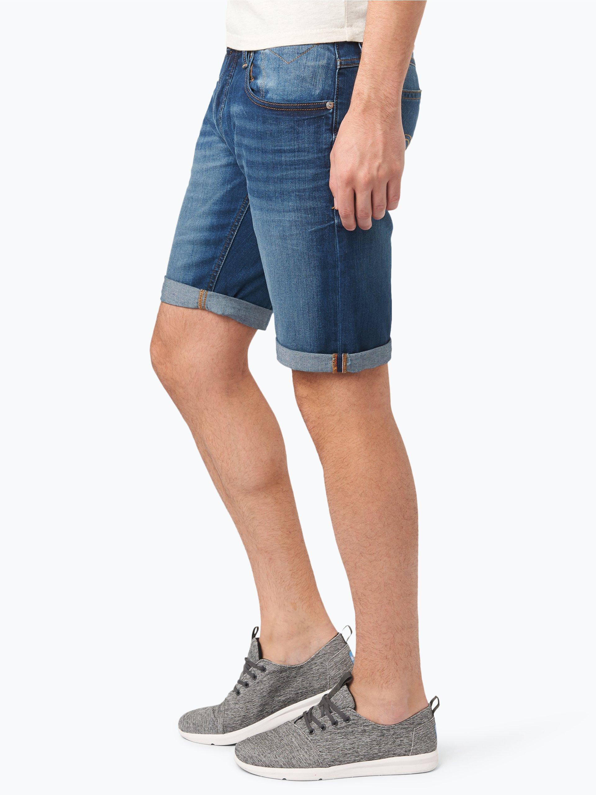 hilfiger denim herren jeans bermuda ronnie hellblau uni online kaufen vangraaf com. Black Bedroom Furniture Sets. Home Design Ideas