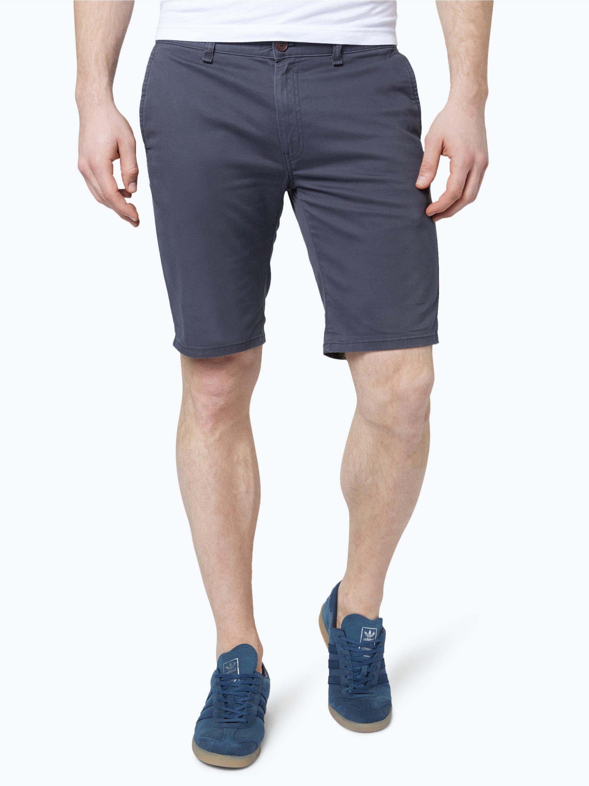 hilfiger denim herren shorts anthrazit uni online kaufen vangraaf com. Black Bedroom Furniture Sets. Home Design Ideas