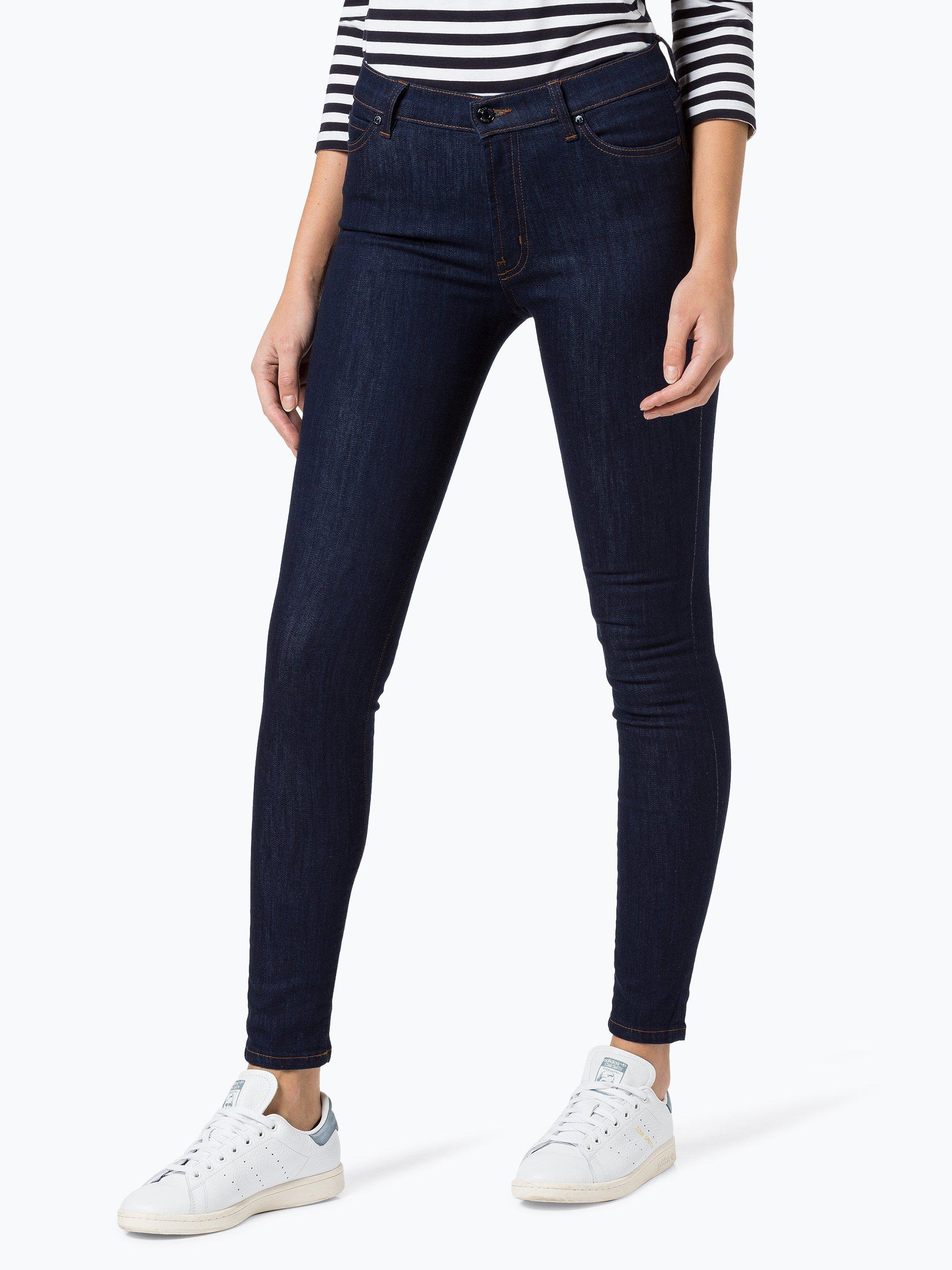 hugo damen jeans georgina rinsed uni online kaufen. Black Bedroom Furniture Sets. Home Design Ideas