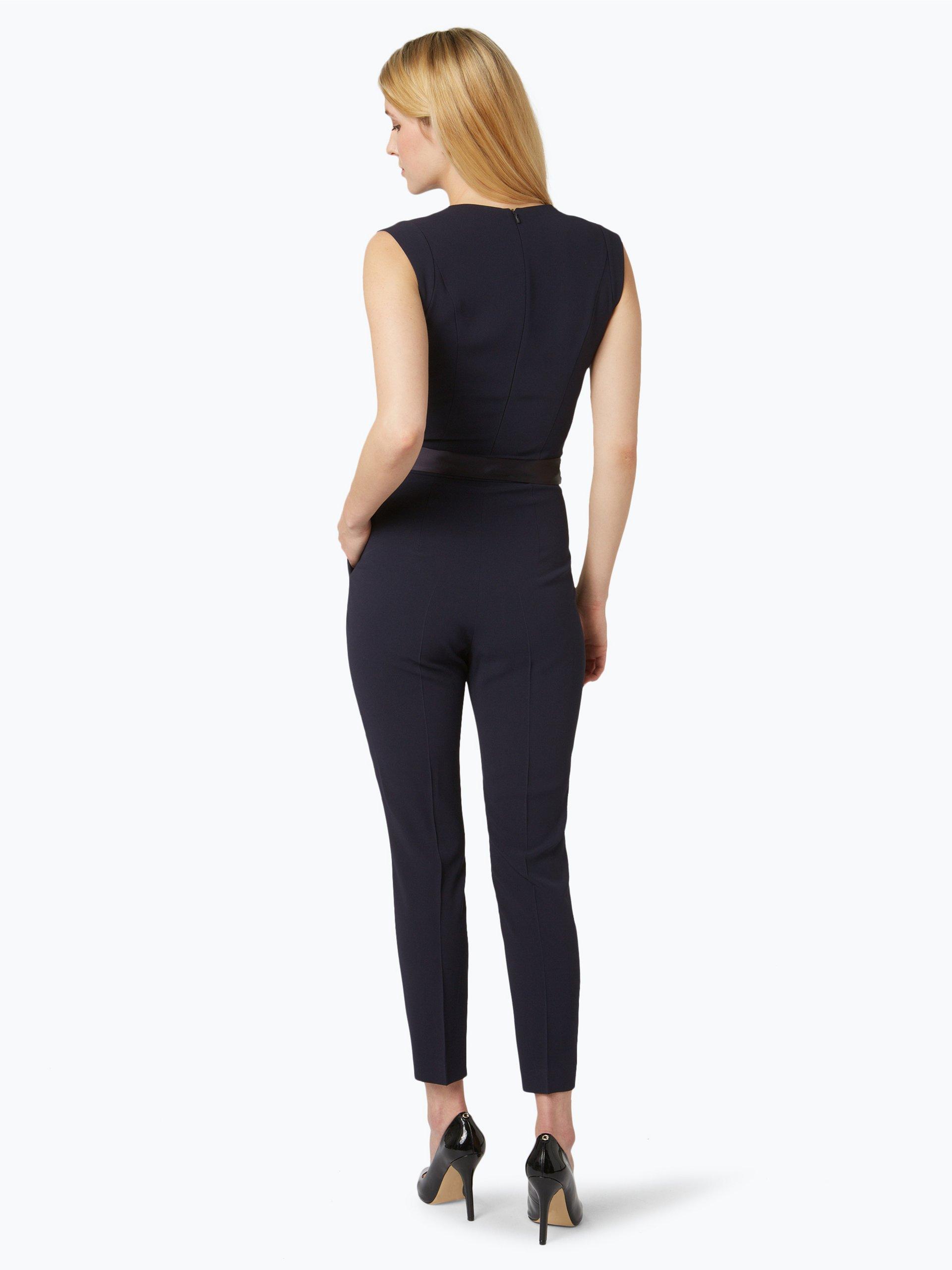 hugo damen jumpsuit kadolli wei uni online kaufen. Black Bedroom Furniture Sets. Home Design Ideas