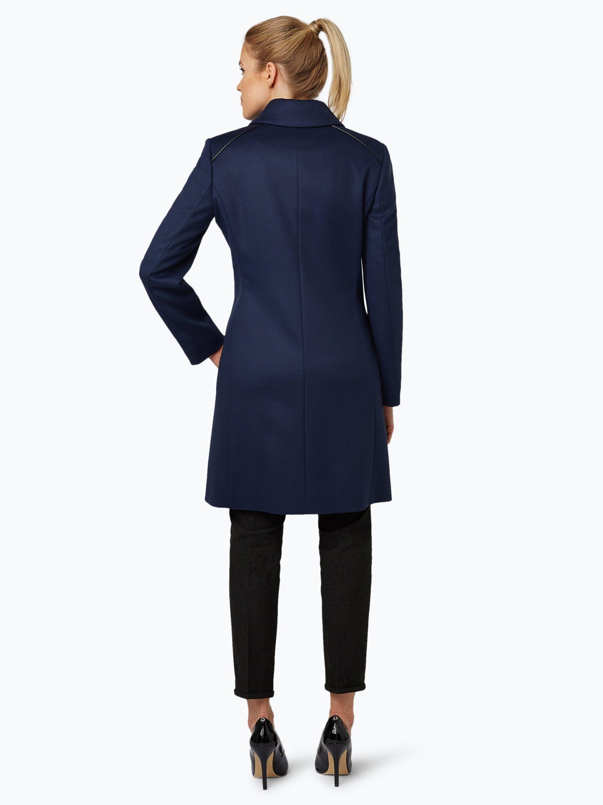 hugo damen mantel mit cashmere anteil malja marine uni online kaufen peek und cloppenburg de. Black Bedroom Furniture Sets. Home Design Ideas