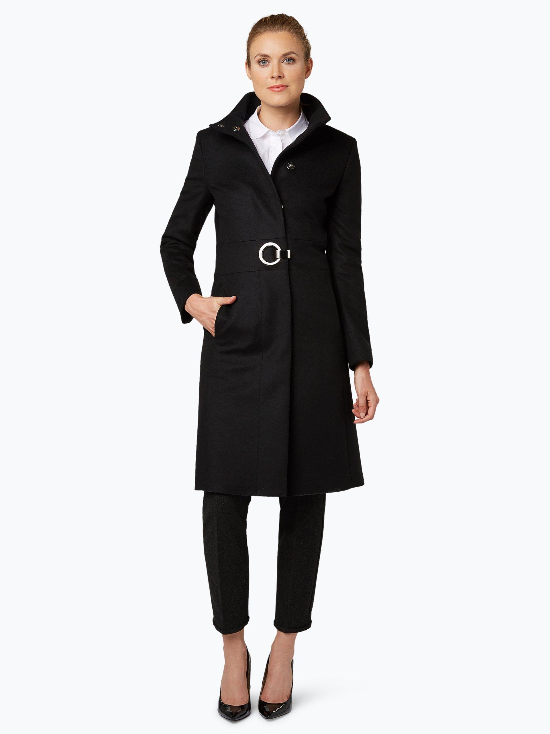 hugo damen mantel mit cashmere anteil mivana online. Black Bedroom Furniture Sets. Home Design Ideas