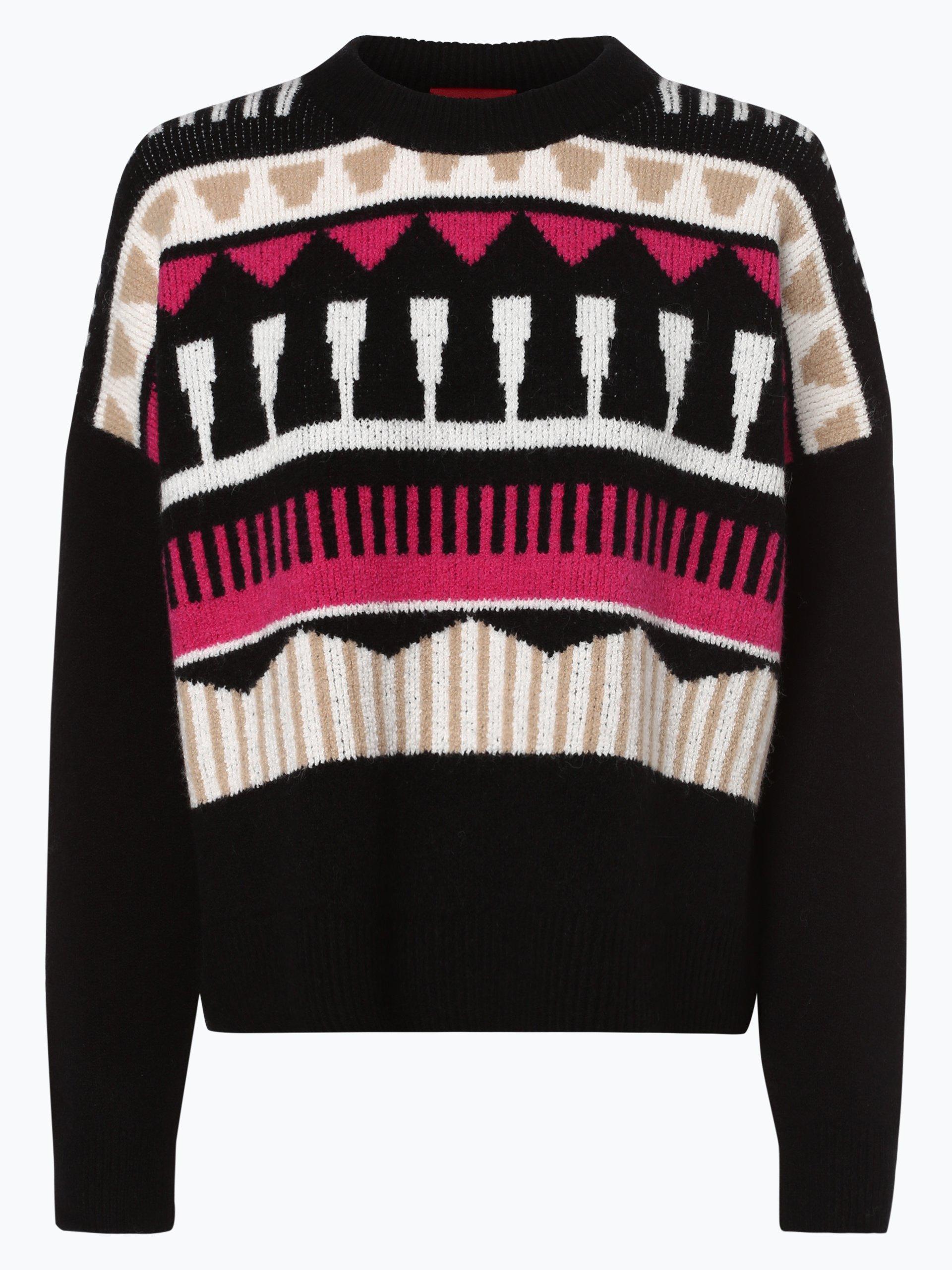 HUGO Damen Pullover mit Alpaka-Anteil - Sairisle