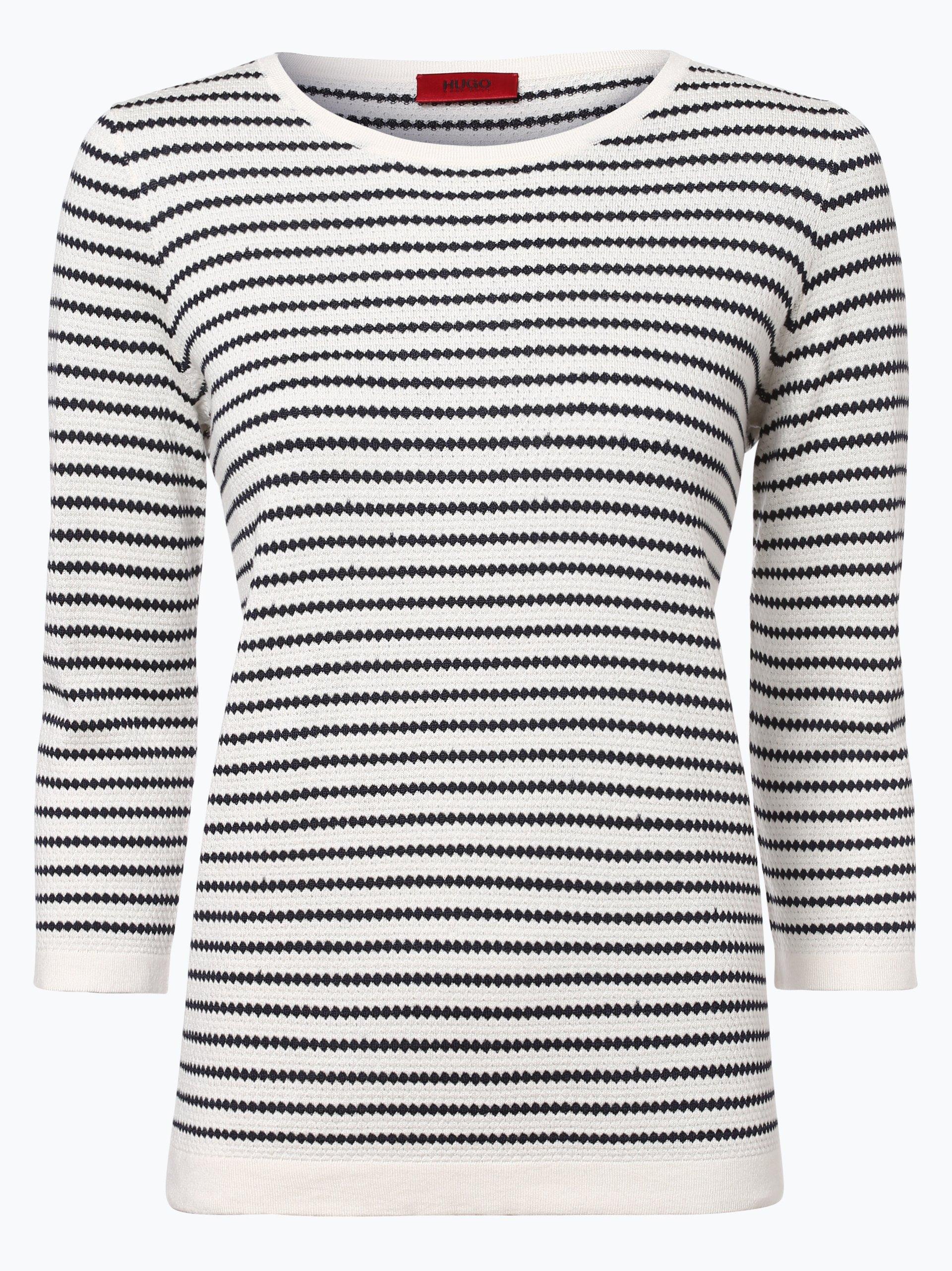 HUGO Damen Pullover mit Seiden-Anteil - Sasiara