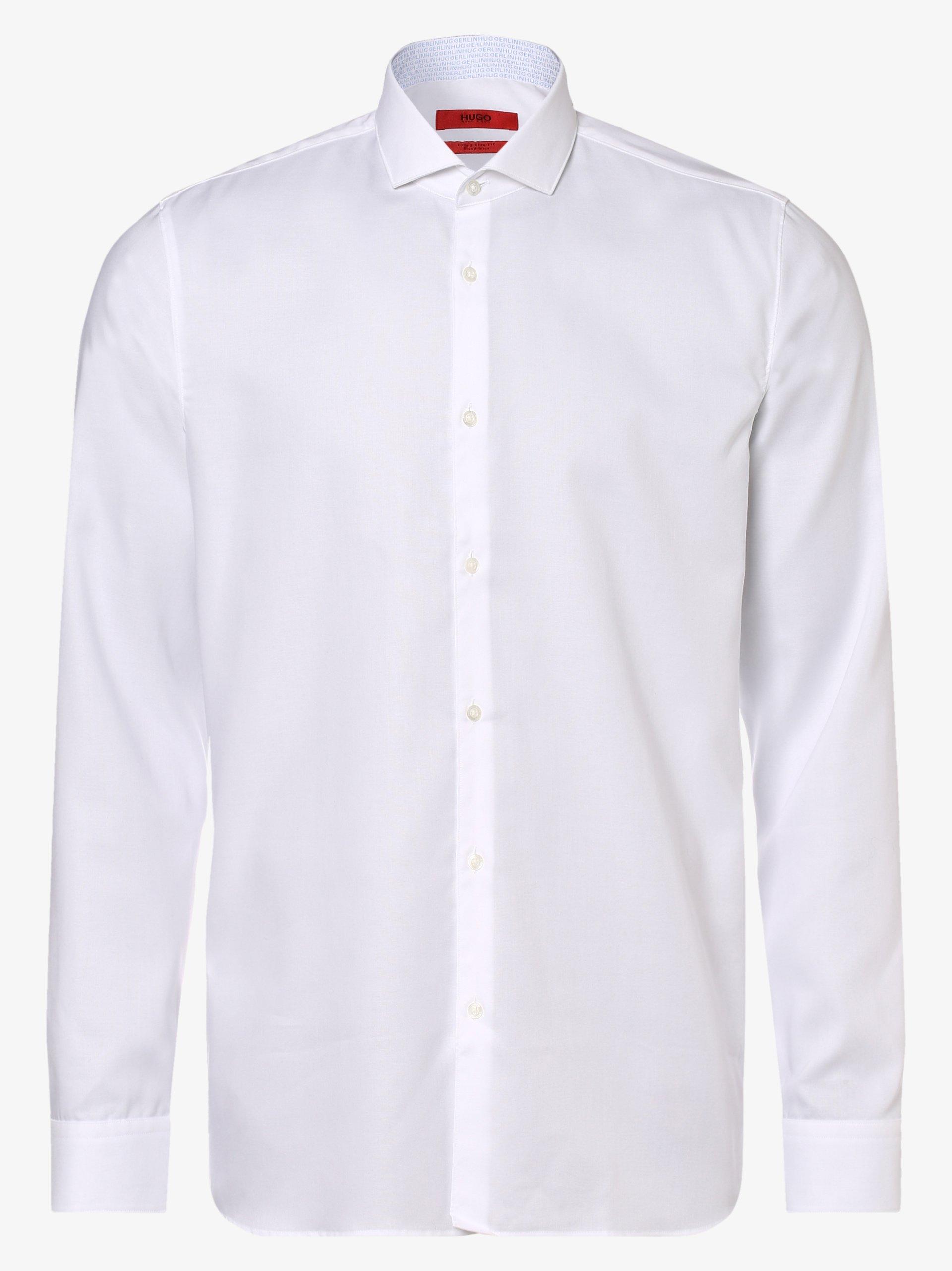 HUGO Herren Hemd - Bügelleicht - Errik