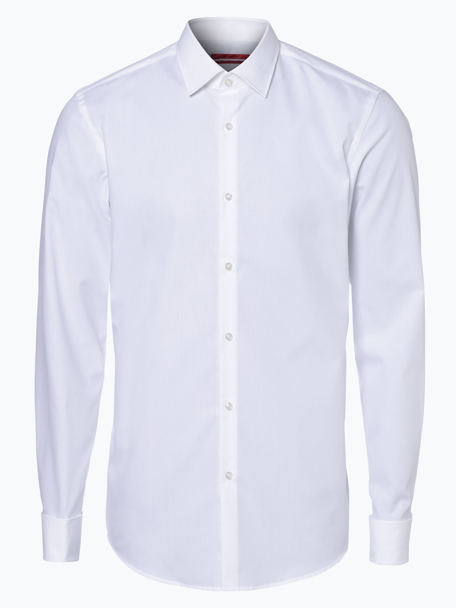 HUGO Herren Hemd Bügelleicht mit Umschlagmanschetten - C-Jaques