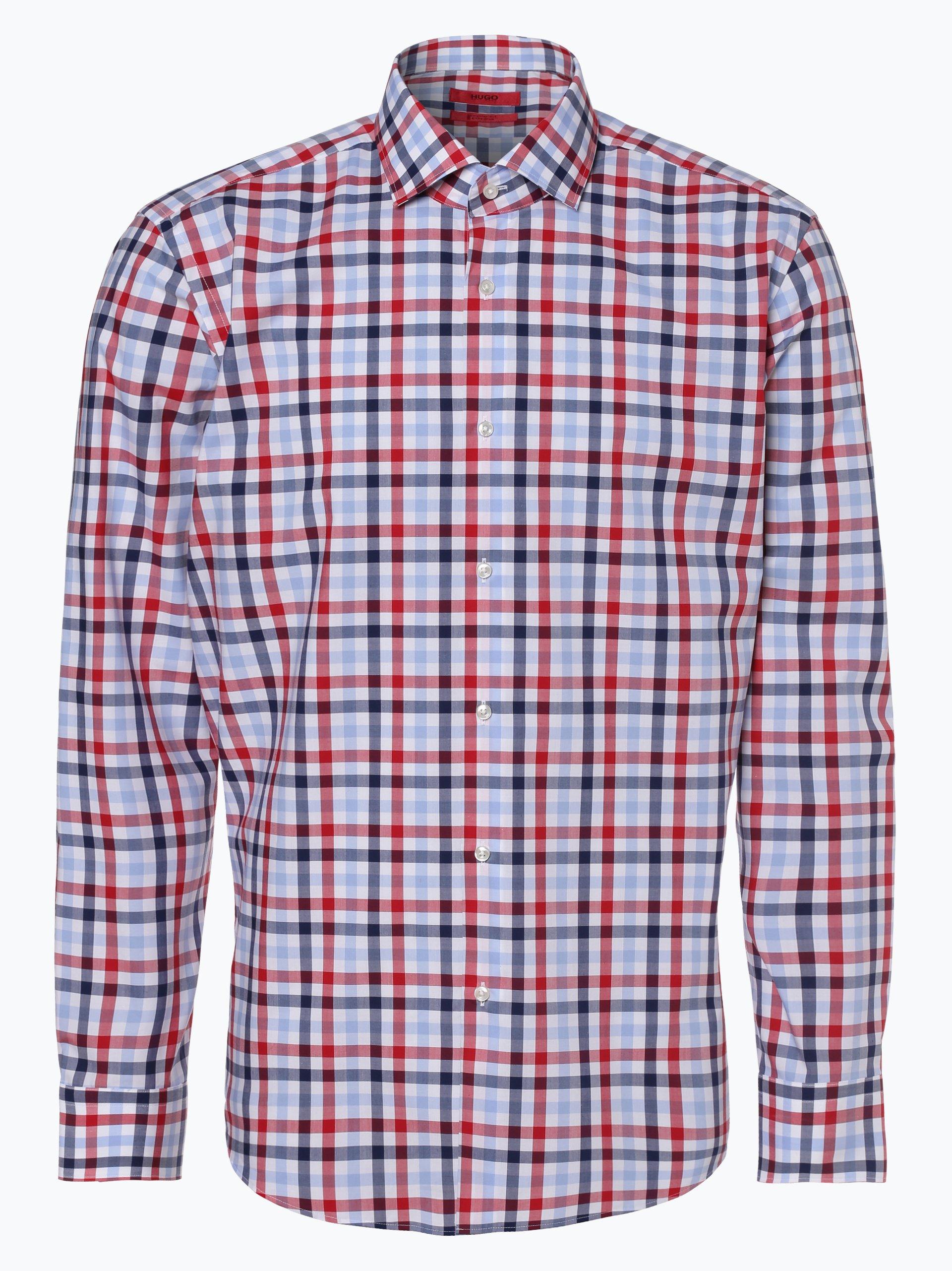 HUGO Herren Hemd - Bügelleicht - Vordon