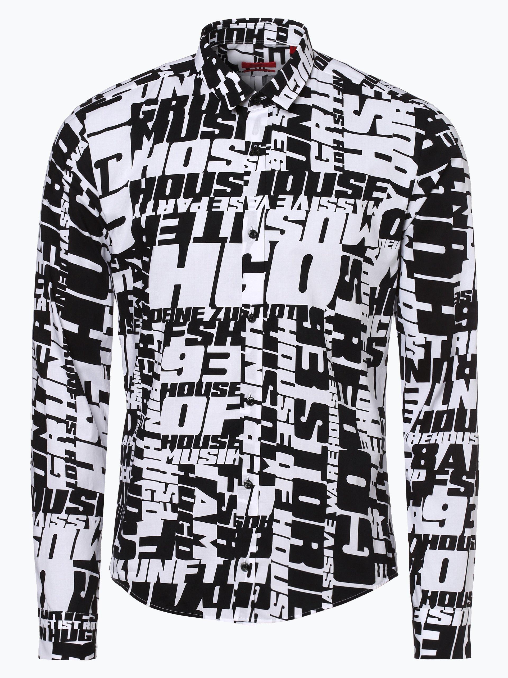 HUGO Herren Hemd - Ero3-W