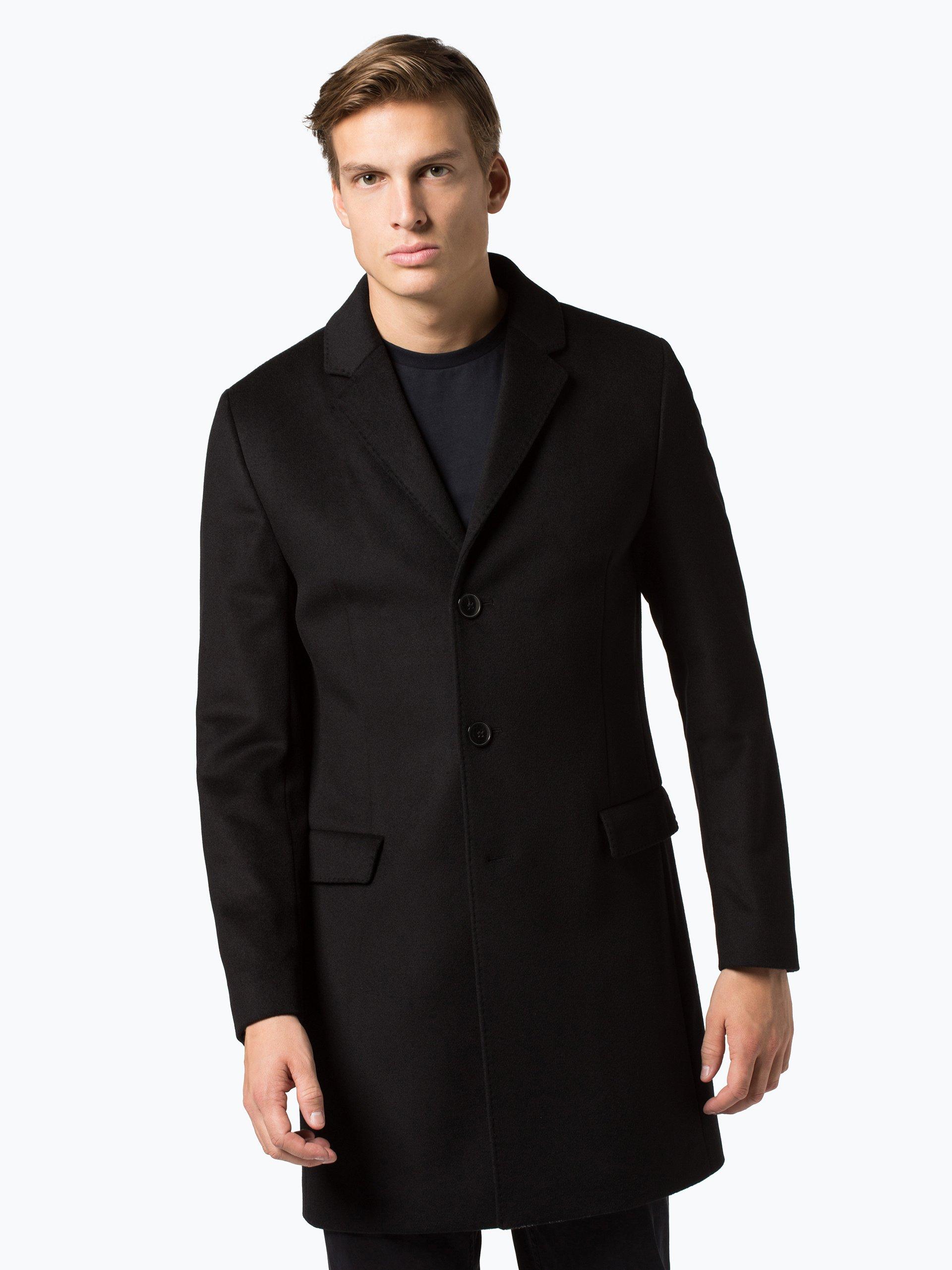 hugo herren mantel mit cashmere anteil migor2 online. Black Bedroom Furniture Sets. Home Design Ideas