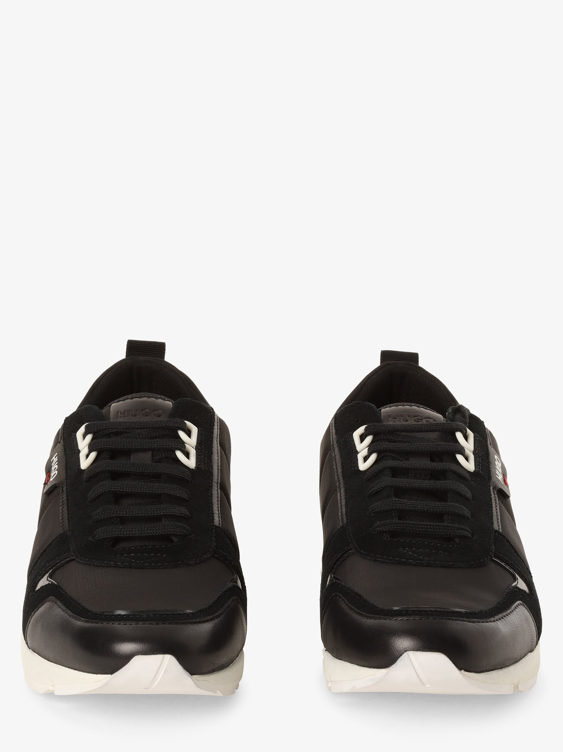 HUGO Herren Sneaker mit Leder-Anteil - Hybrid_Runn_nylt