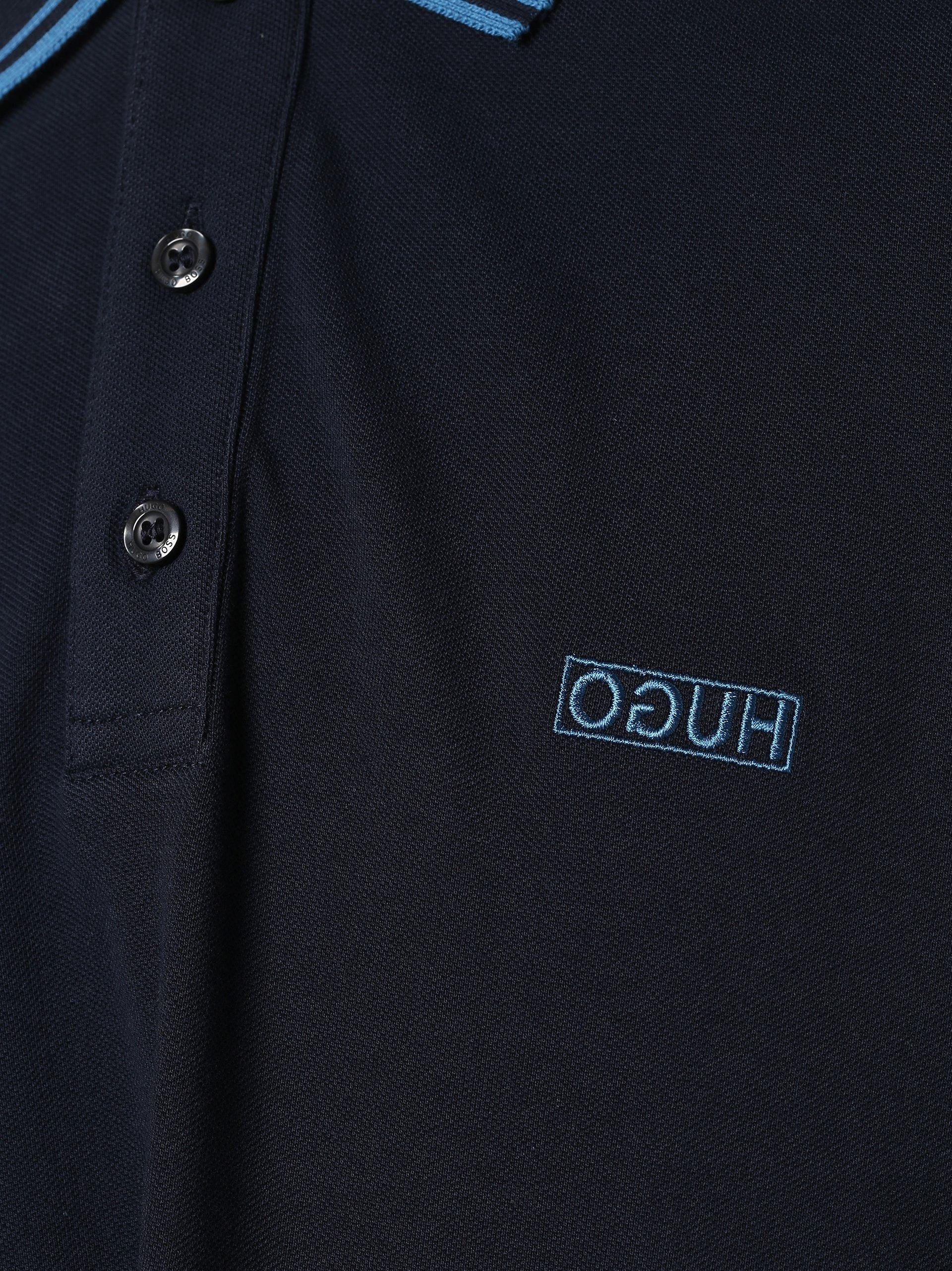 HUGO Męska koszulka polo – Dyler193
