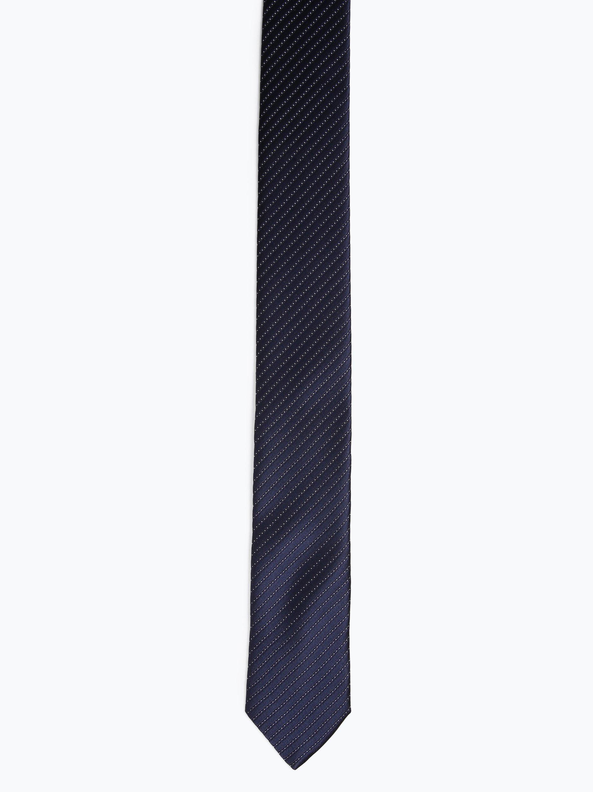 HUGO Męski krawat z jedwabiu