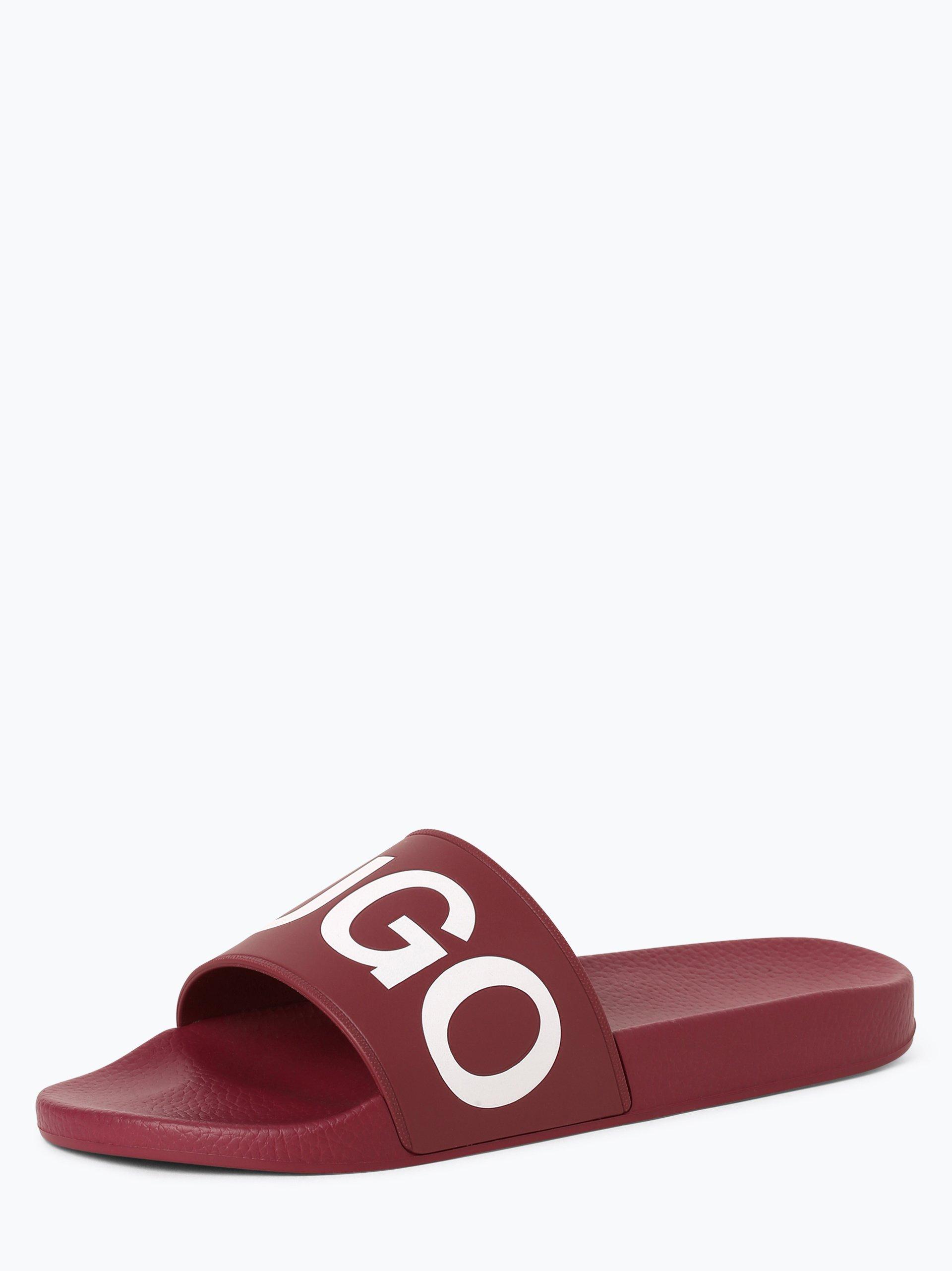 HUGO Męskie pantofle kąpielowe – Timeout