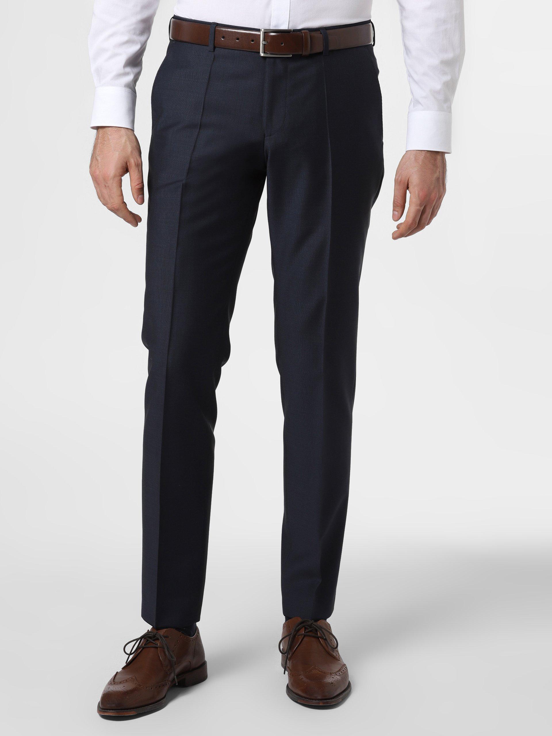 HUGO Męskie spodnie od garnituru modułowego – Getlin182