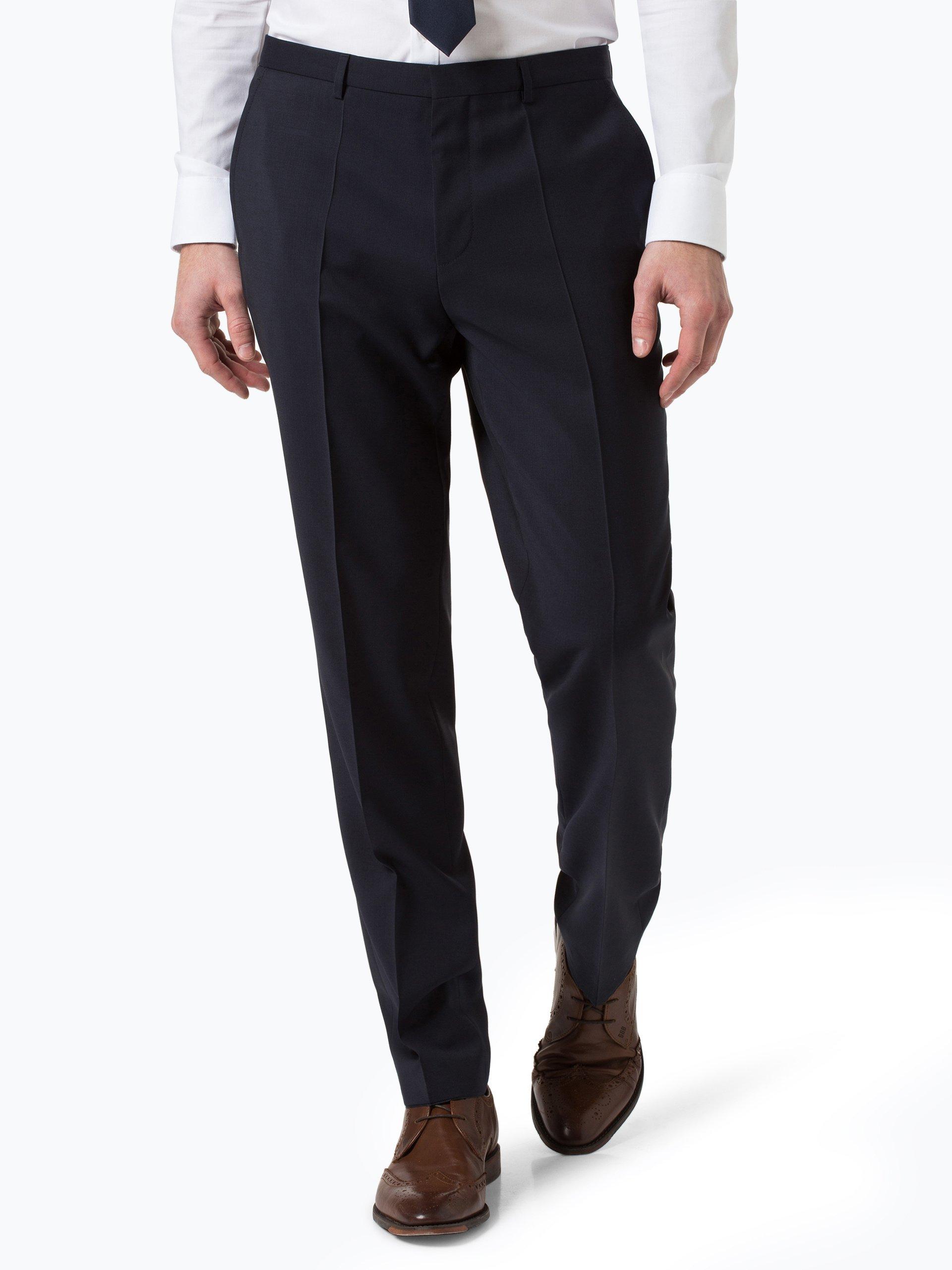 HUGO Męskie spodnie od garnituru modułowego – HartleyS