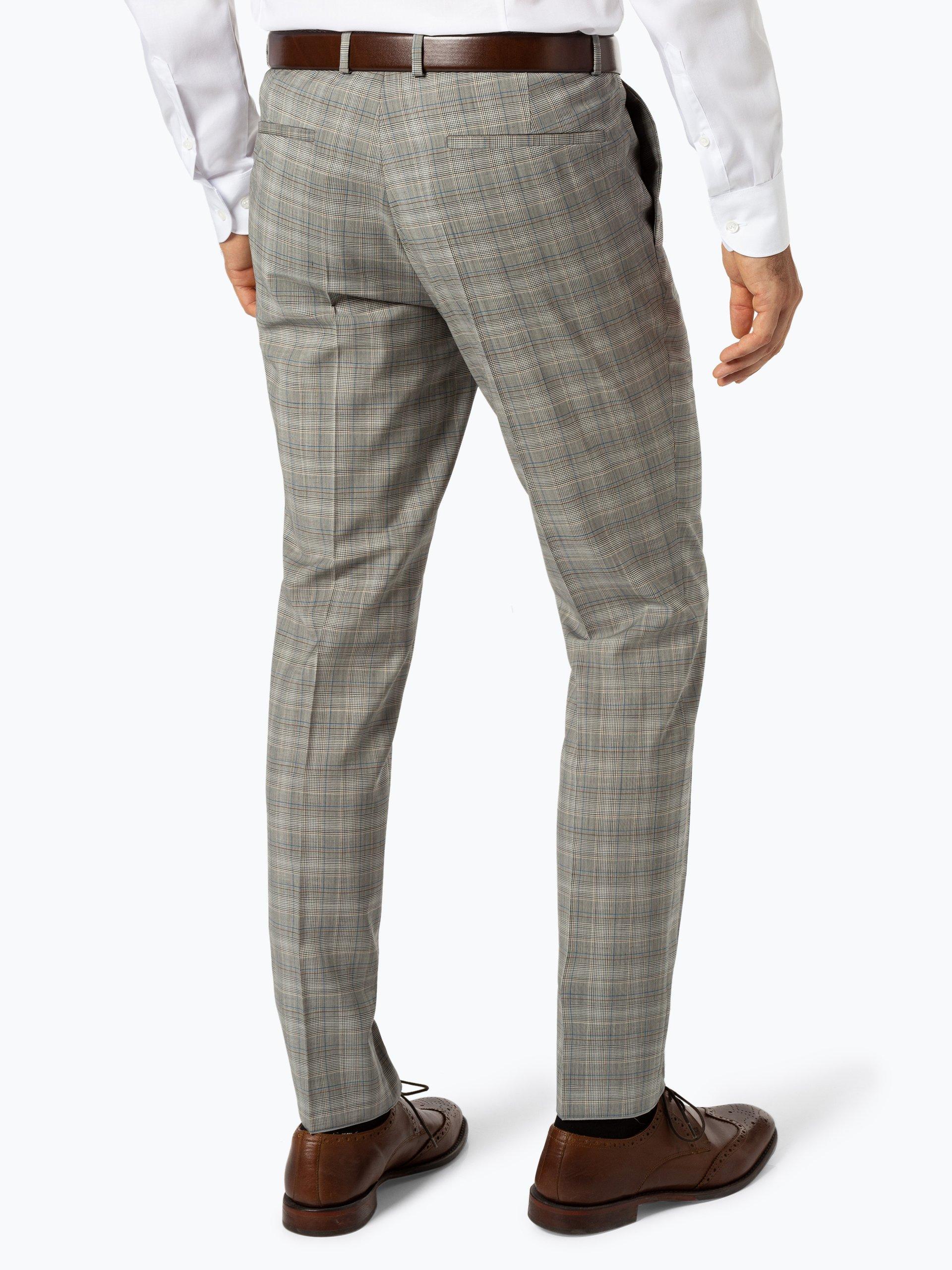 HUGO Męskie spodnie od garnituru modułowego – Hesten182
