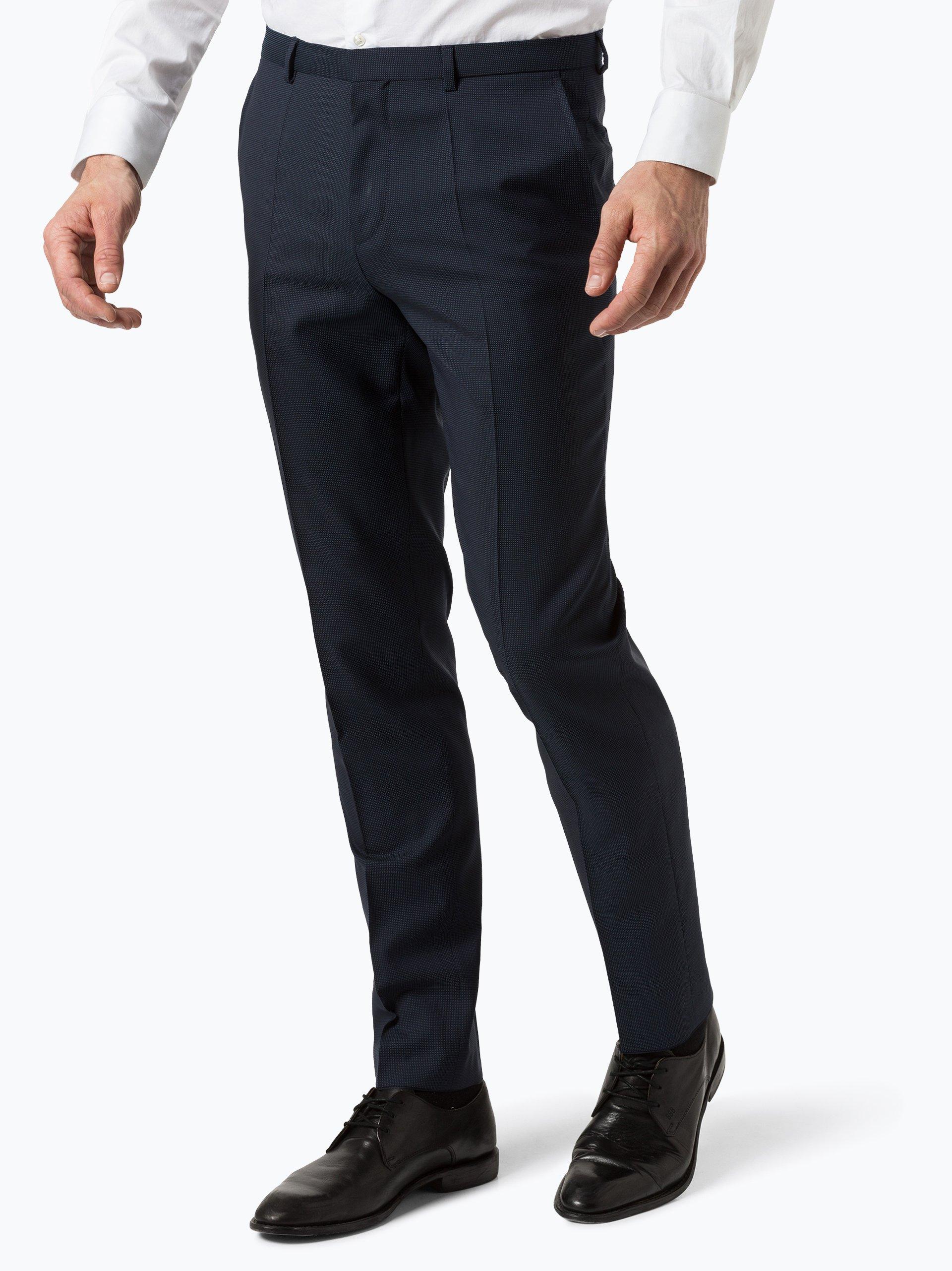 HUGO Męskie spodnie od garnituru modułowego – Hets182