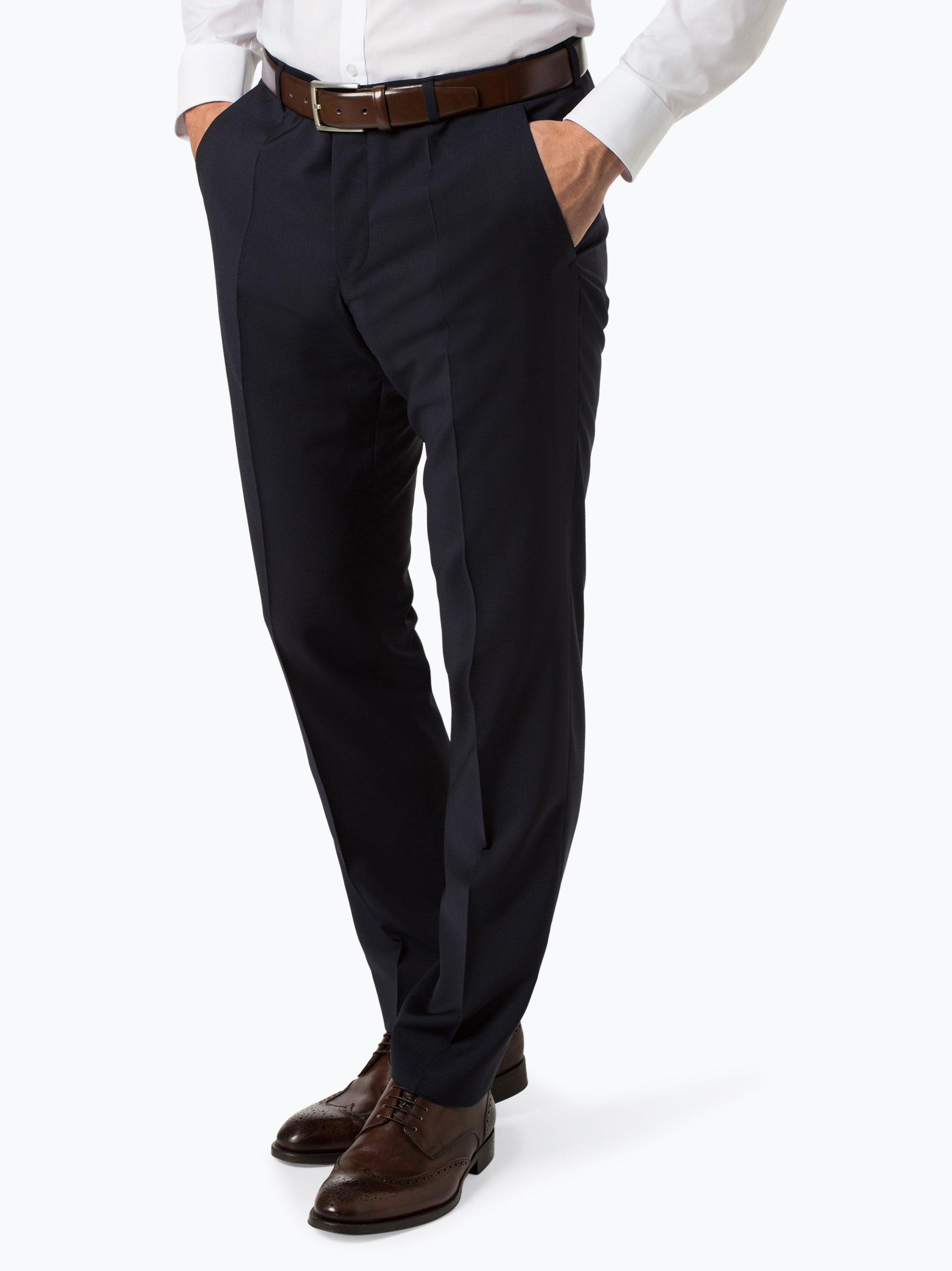 HUGO Męskie spodnie od garnituru modułowego – Simmons181S