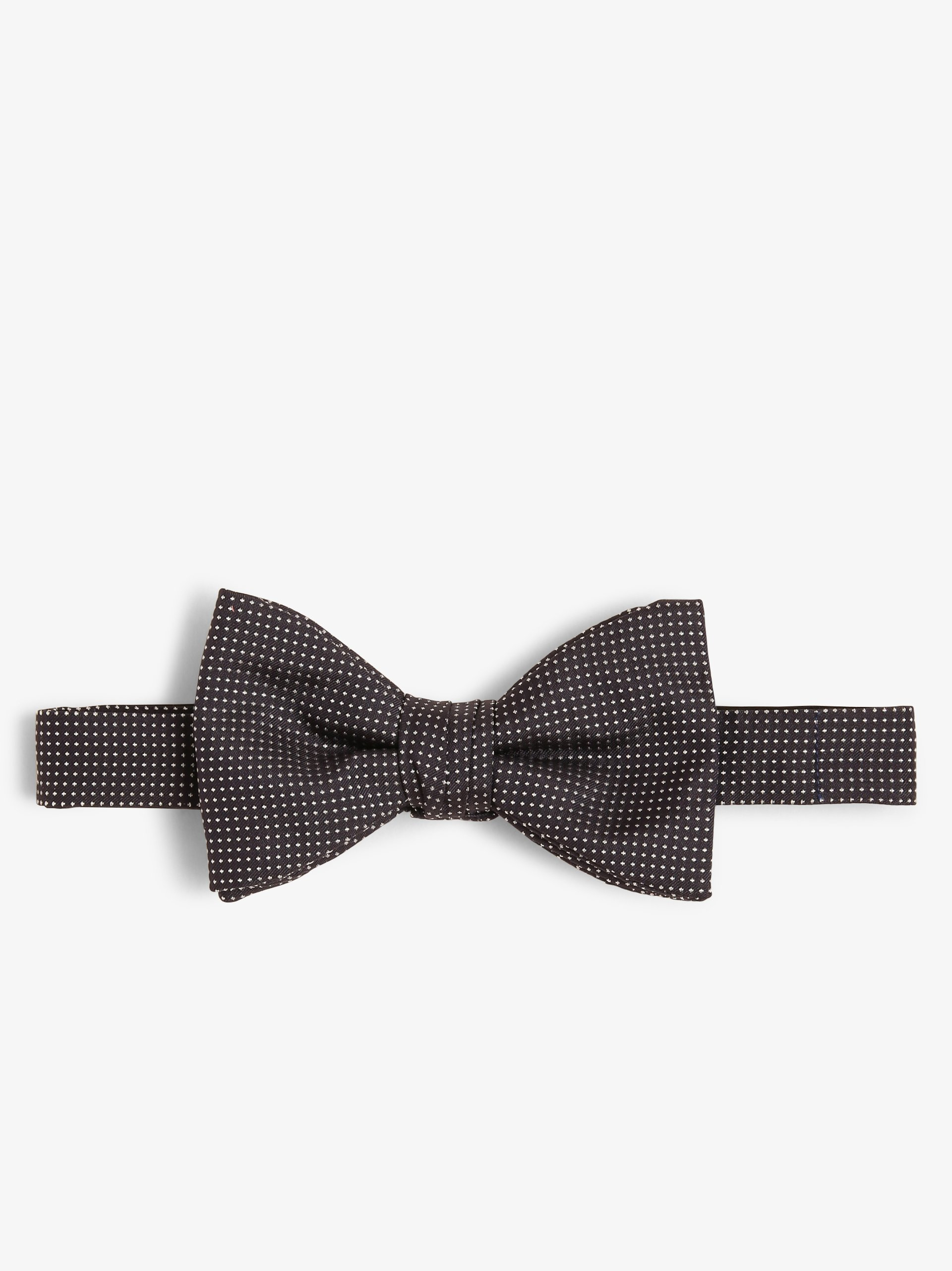 HUGO Muszka męska z jedwabiu – Bow tie dressy