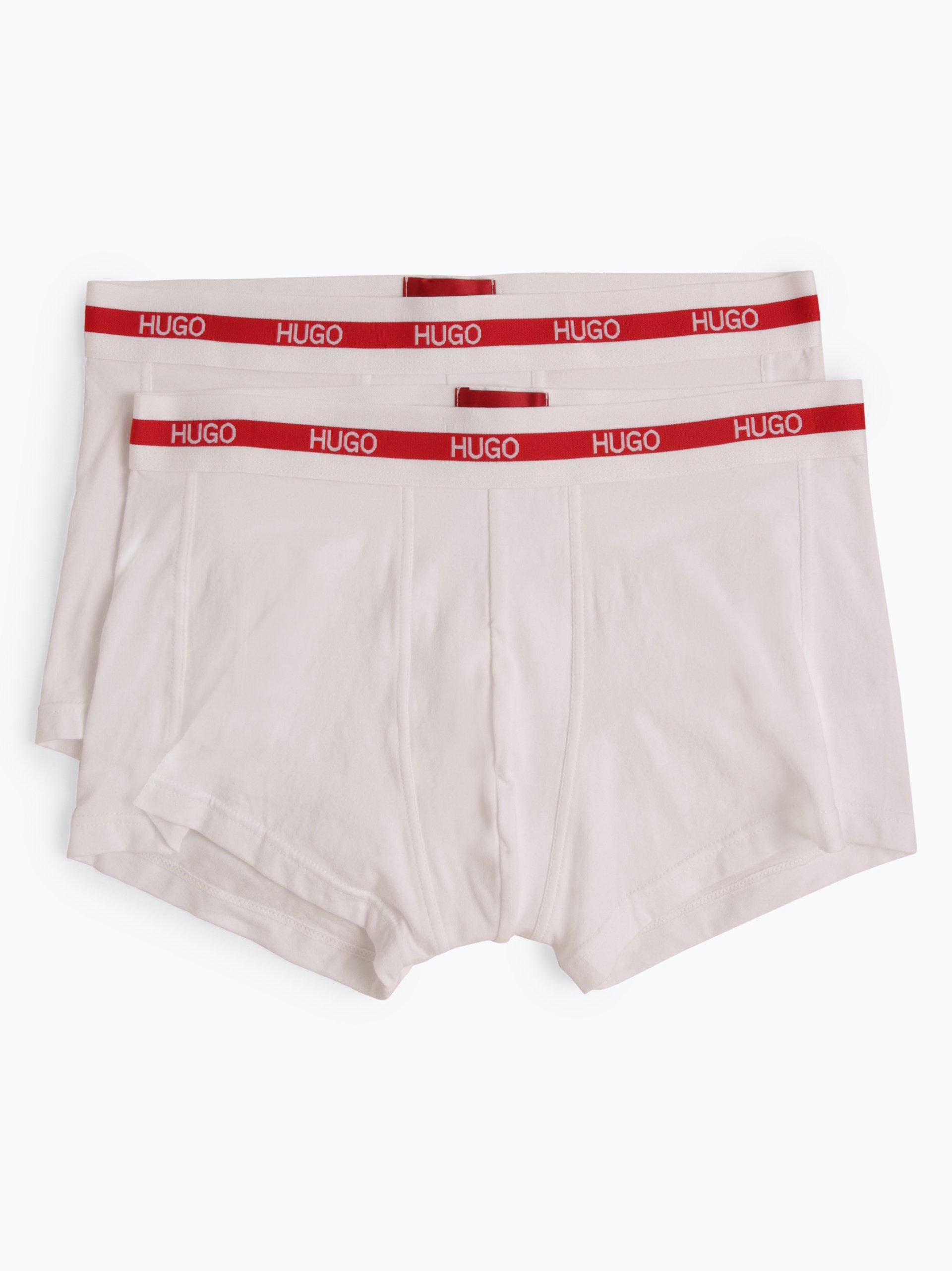 HUGO Obcisłe bokserki męskie pakowane po 2 szt.