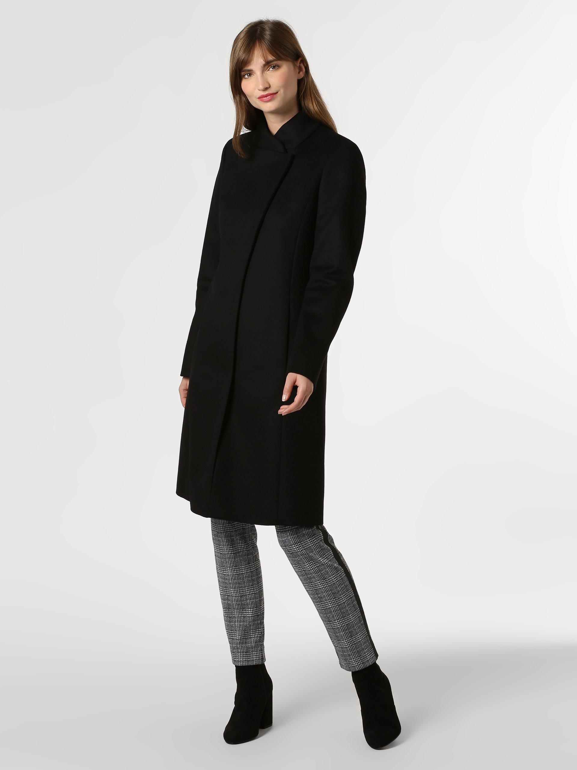 HUGO Płaszcz damski z dodatkiem kaszmiru – Metura