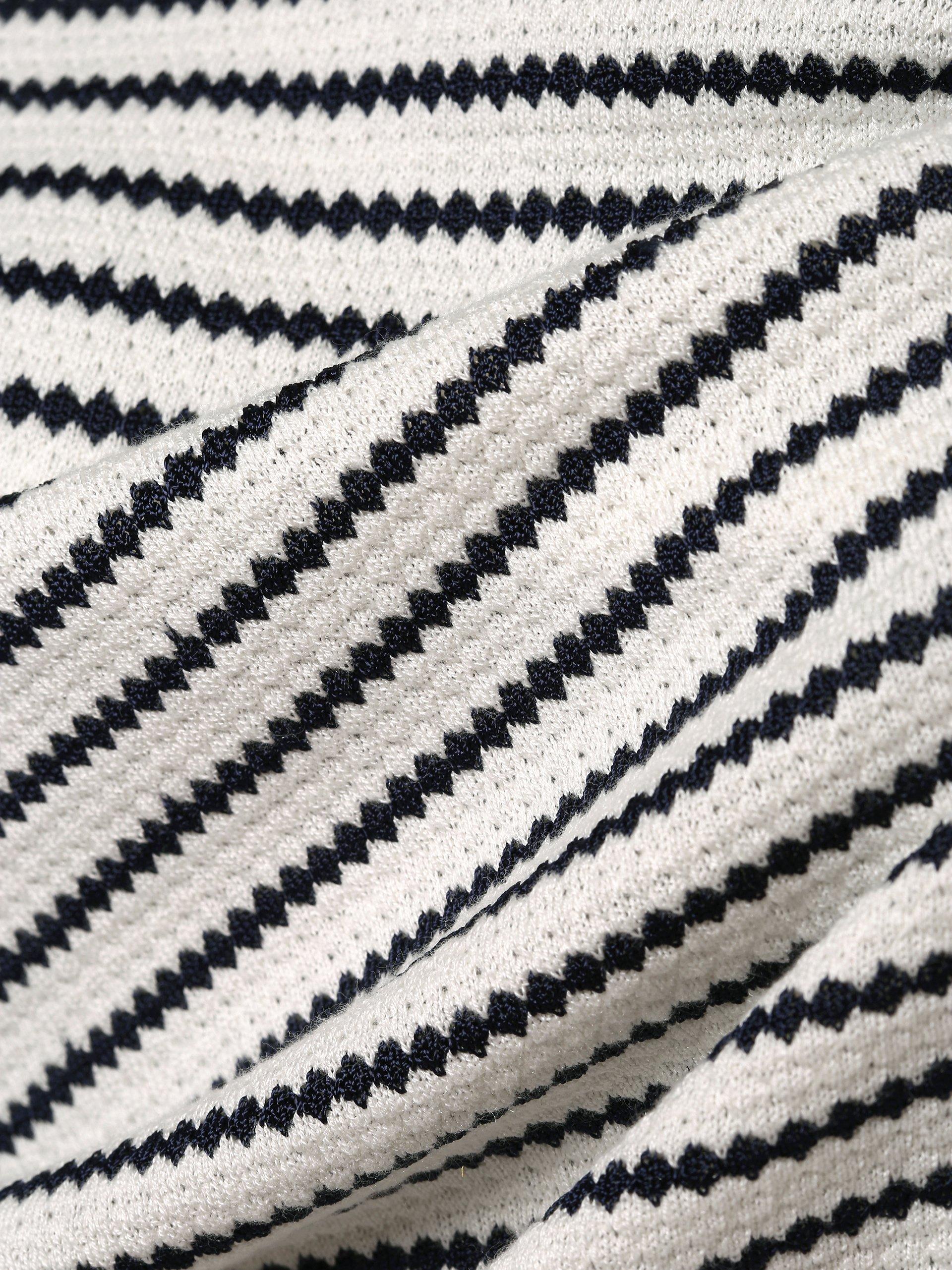 HUGO Sweter damski z dodatkiem jedwabiu – Sasiara