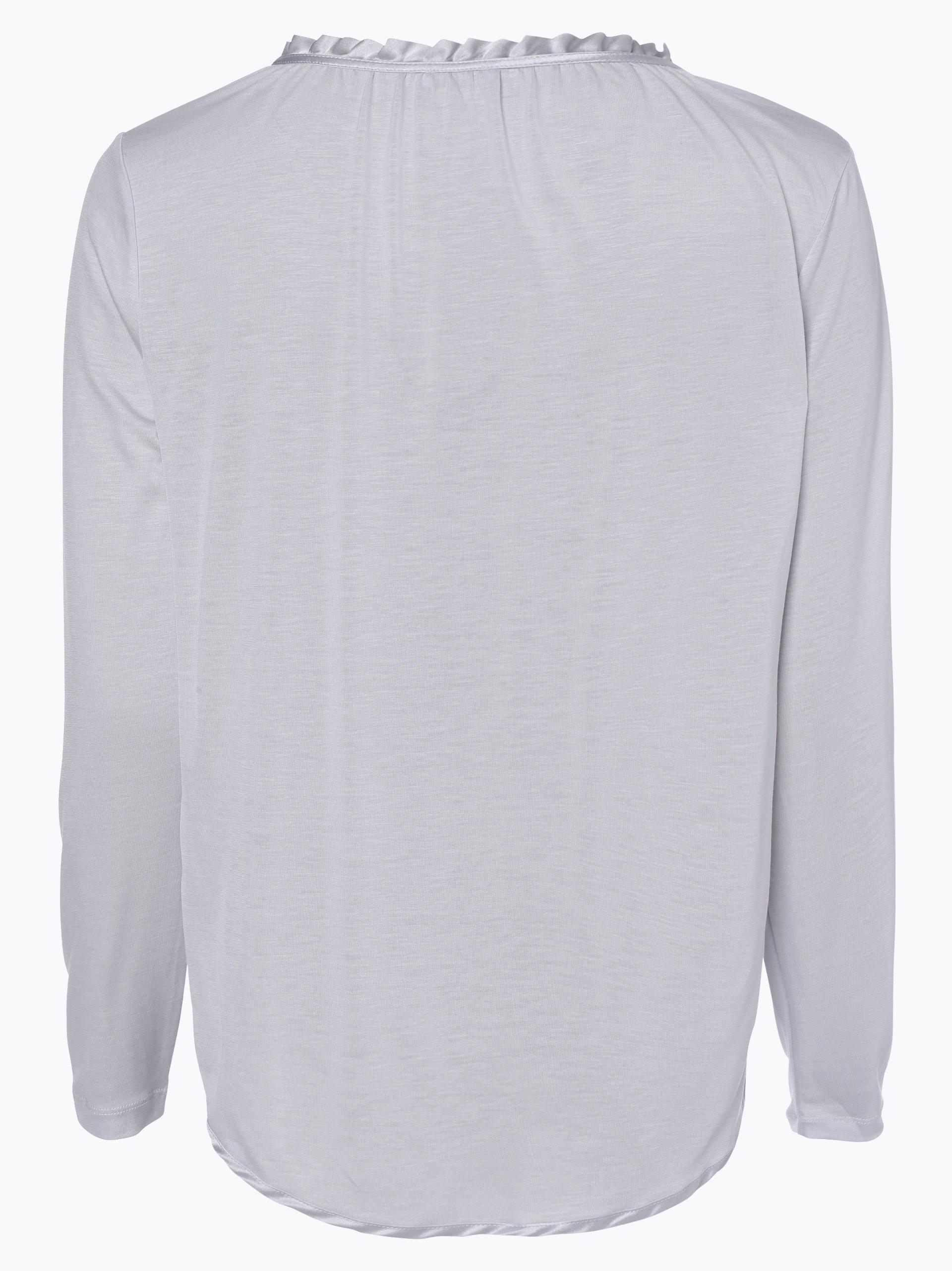 iheart Damska koszulka z długim rękawem z domieszką jedwabiu